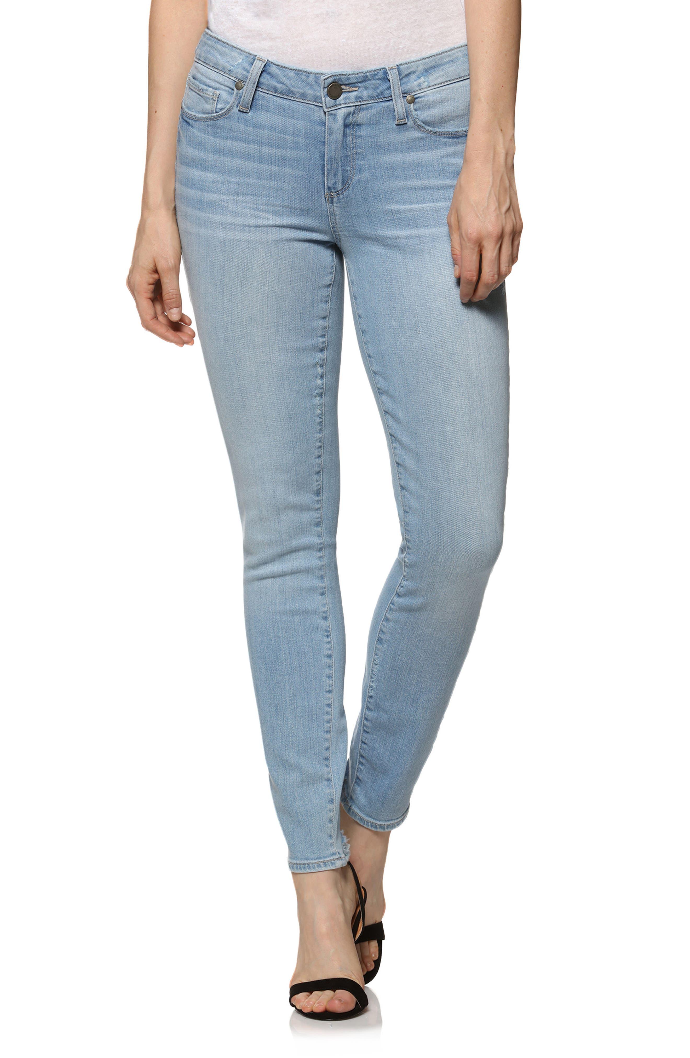 Verdugo Ankle Skinny Jeans,                         Main,                         color, Lumina
