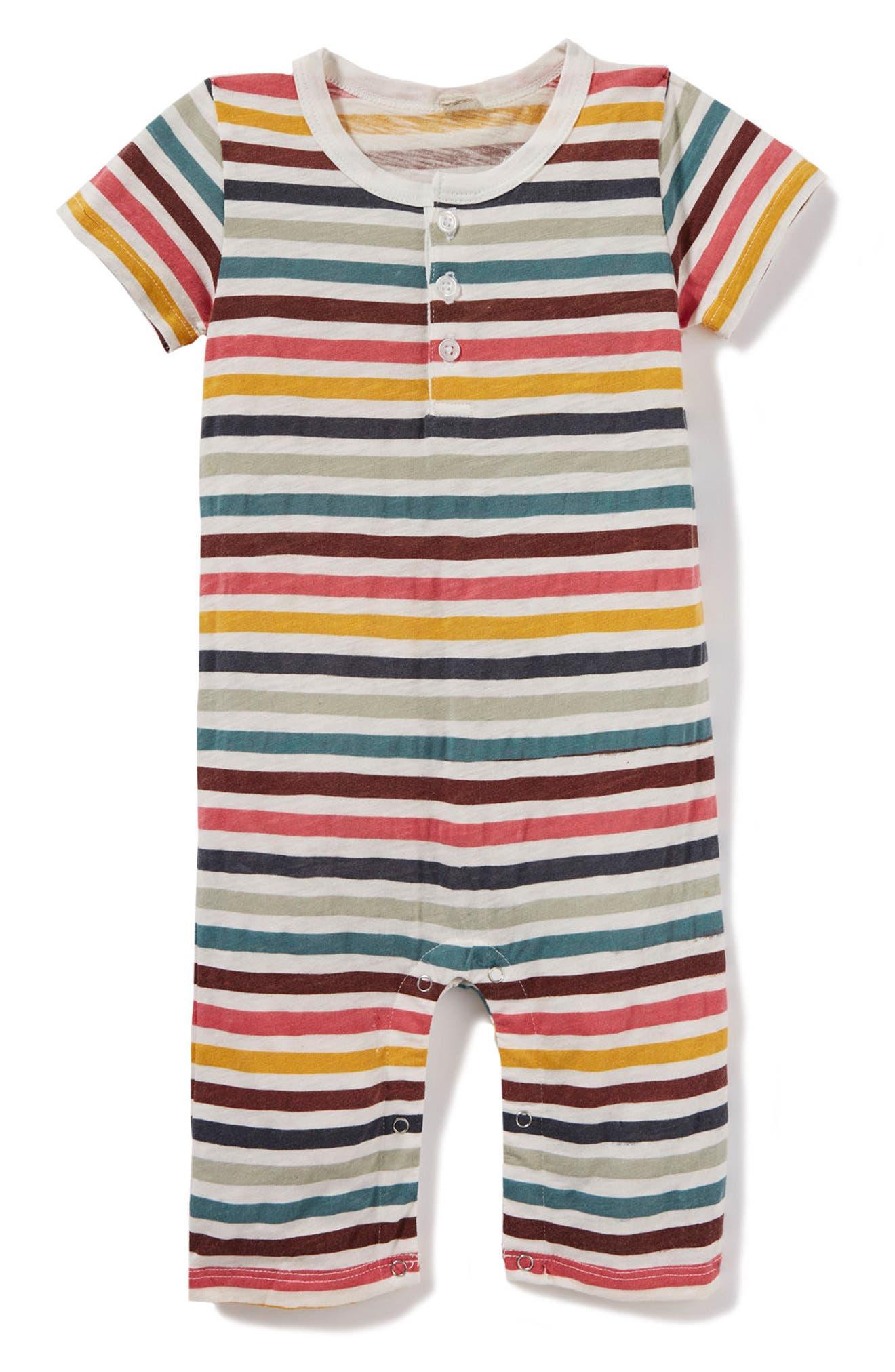 Peek Stripe Bodysuit (Baby Boys)