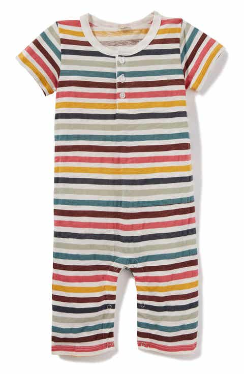 All baby boy clothes bodysuits footies tops more nordstrom peek stripe bodysuit baby negle Gallery