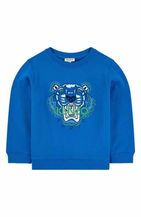 e93102b48 KENZO Embroidered Tiger Logo Sweatshirt (Toddler Boys, Little Boys & Big  Boys)