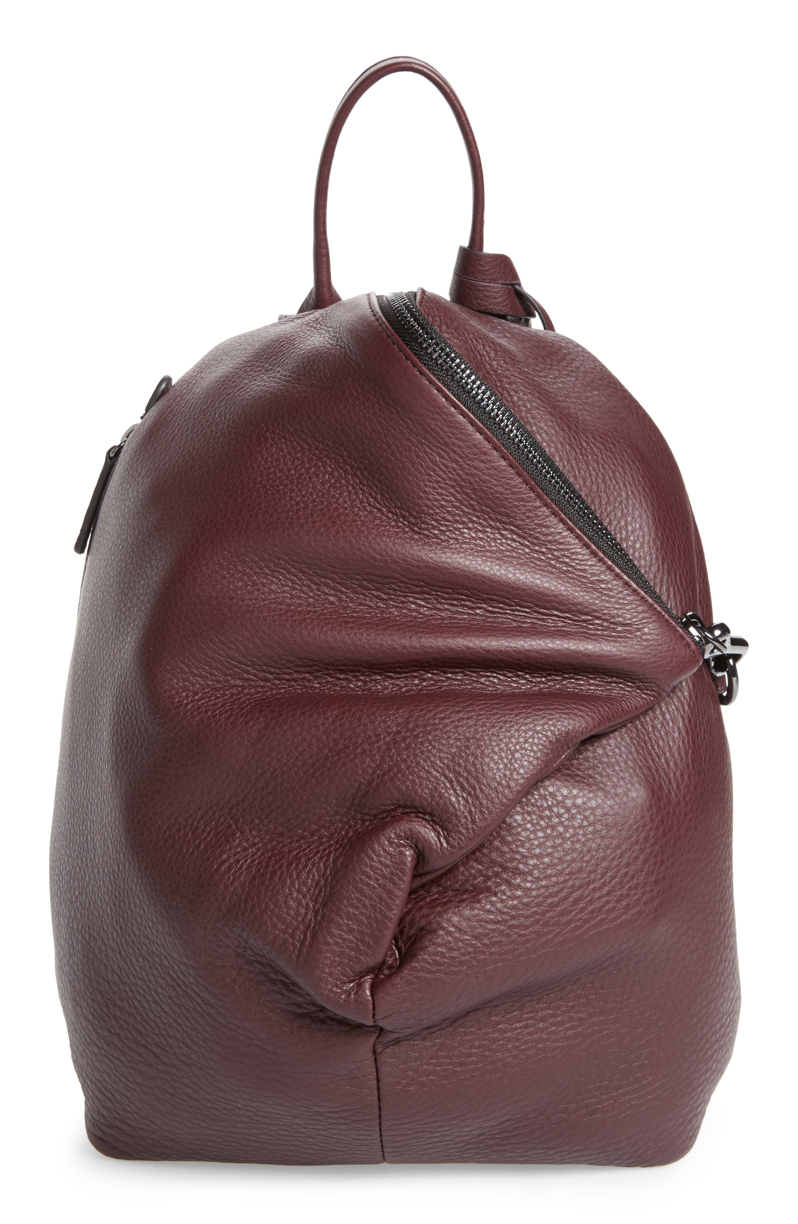 Vince Camuto Small Giani Leather Backpack