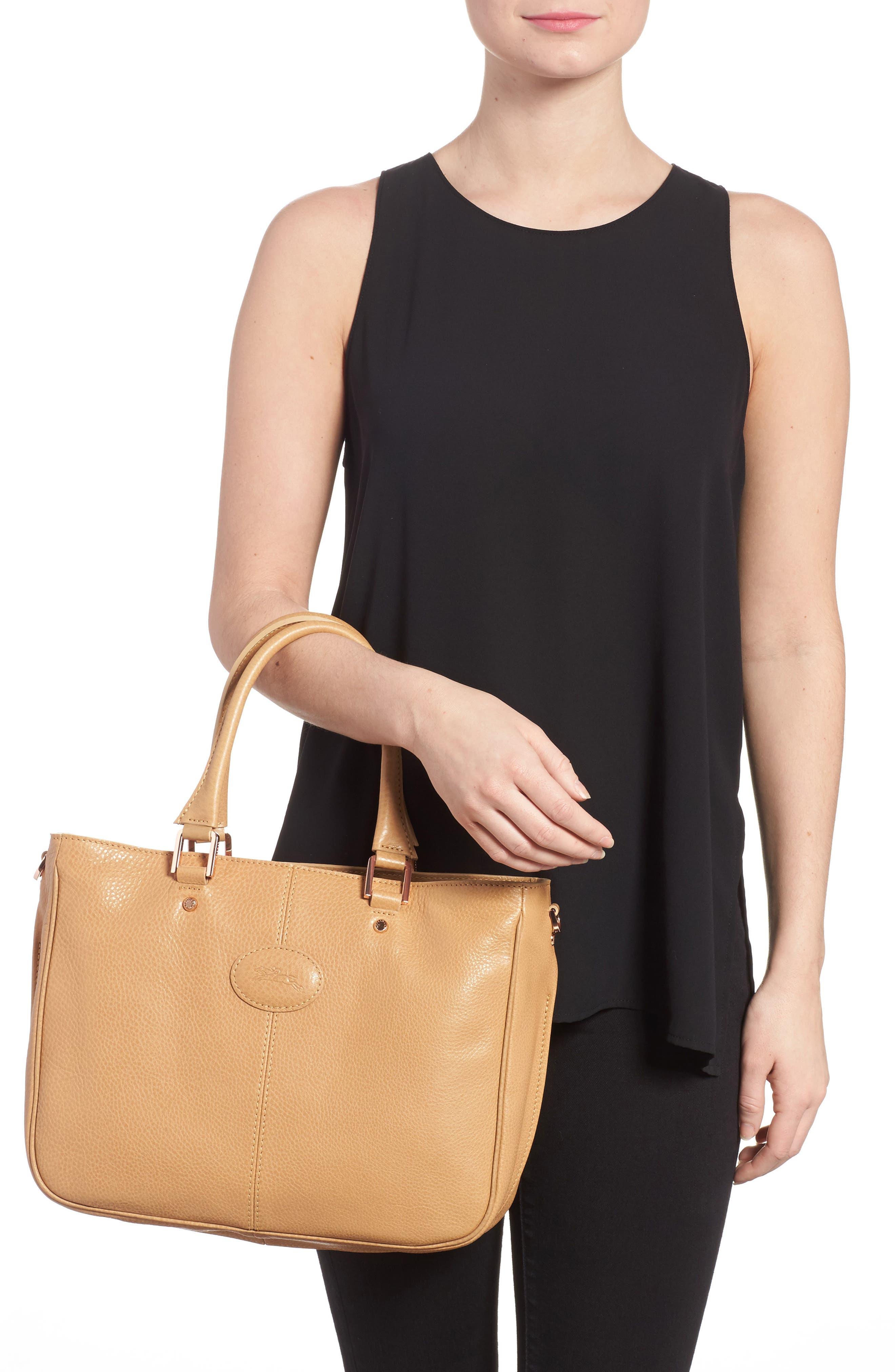 Alternate Image 2  - Longchamp Mystery Leather Satchel