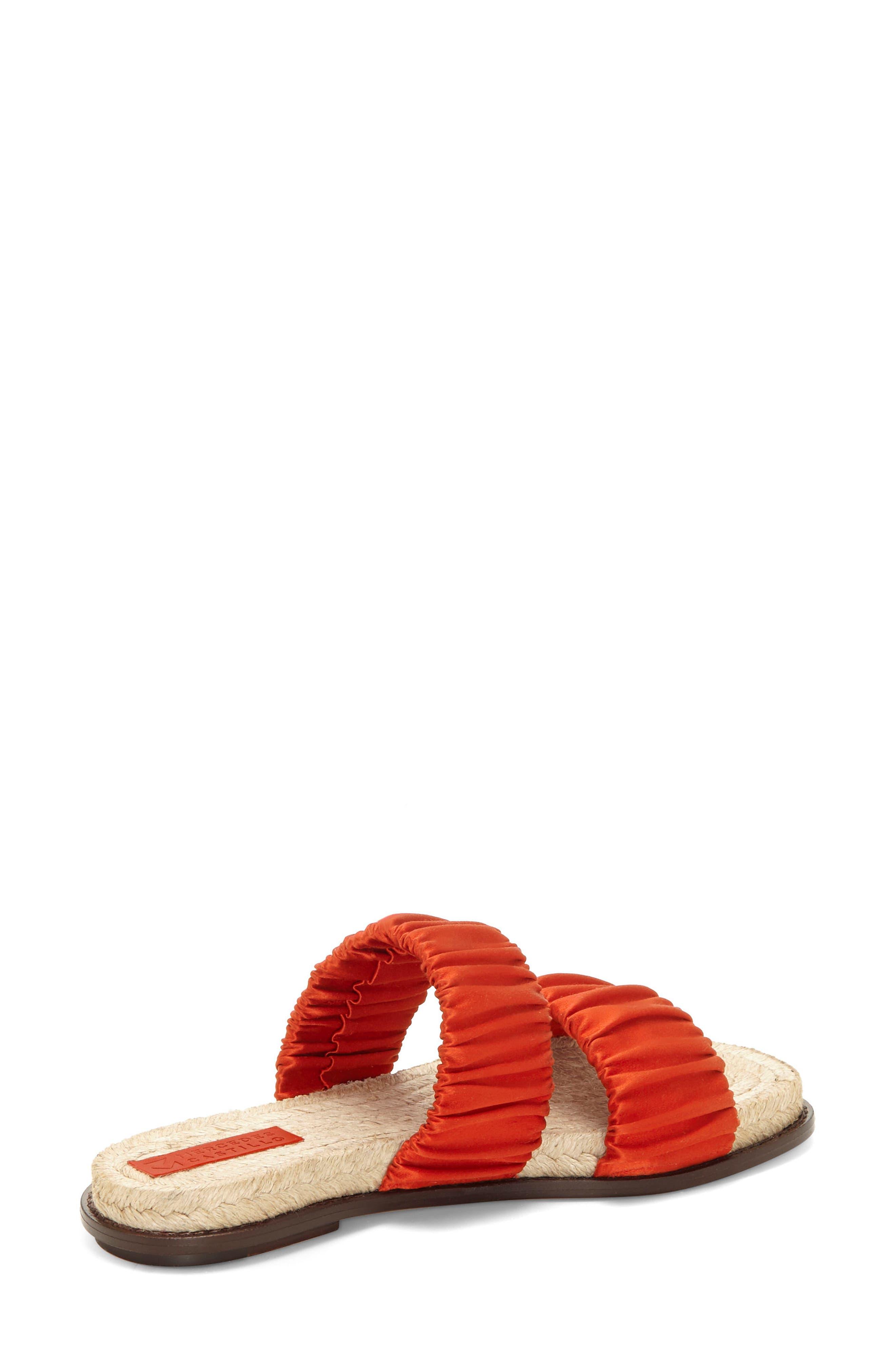Espadrille Sandal,                             Alternate thumbnail 2, color,                             Red Tulip