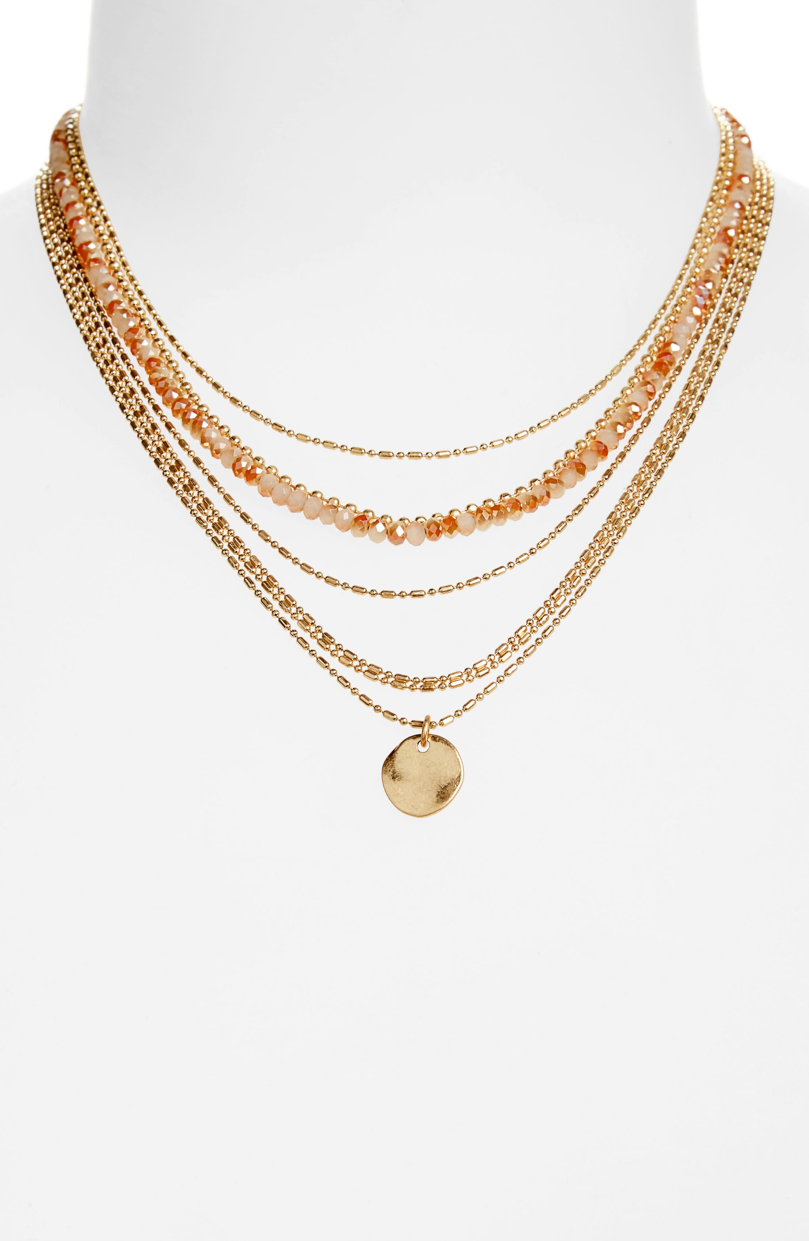 Main Image - Treasure & Bond Seven-Layer Bead Necklace