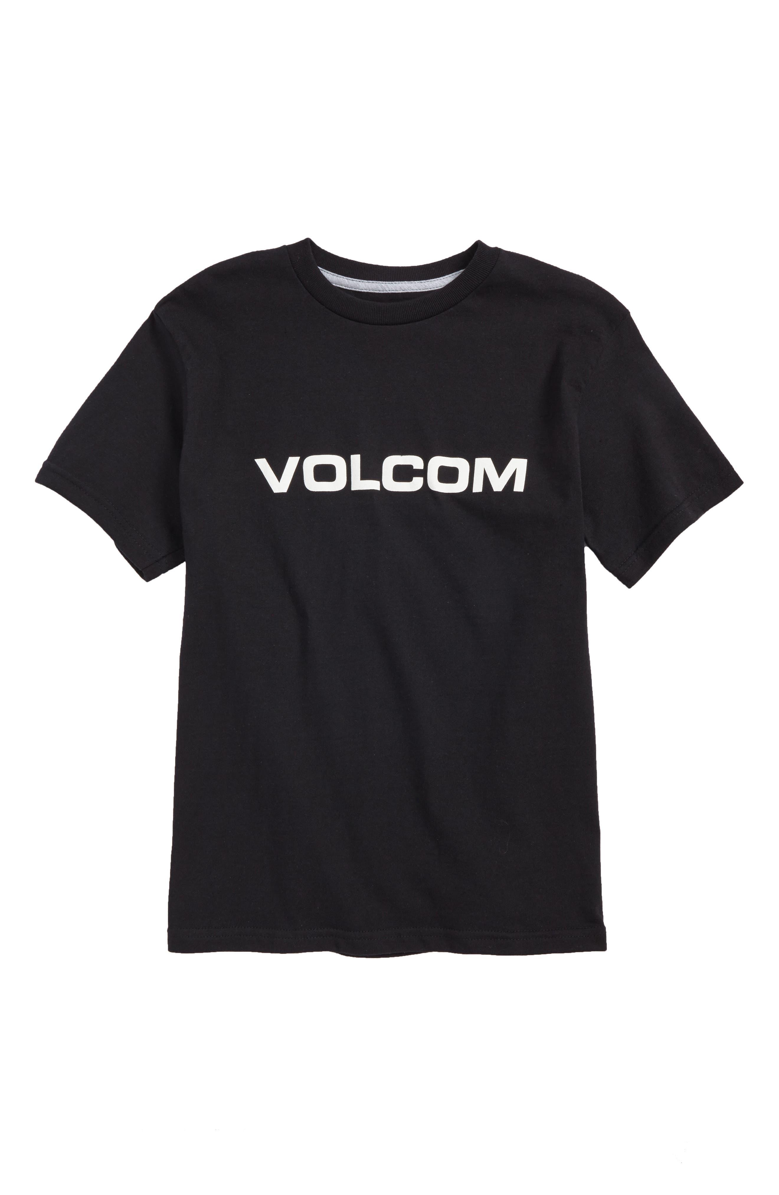 Crisp Euro T-Shirt,                             Main thumbnail 1, color,                             Black