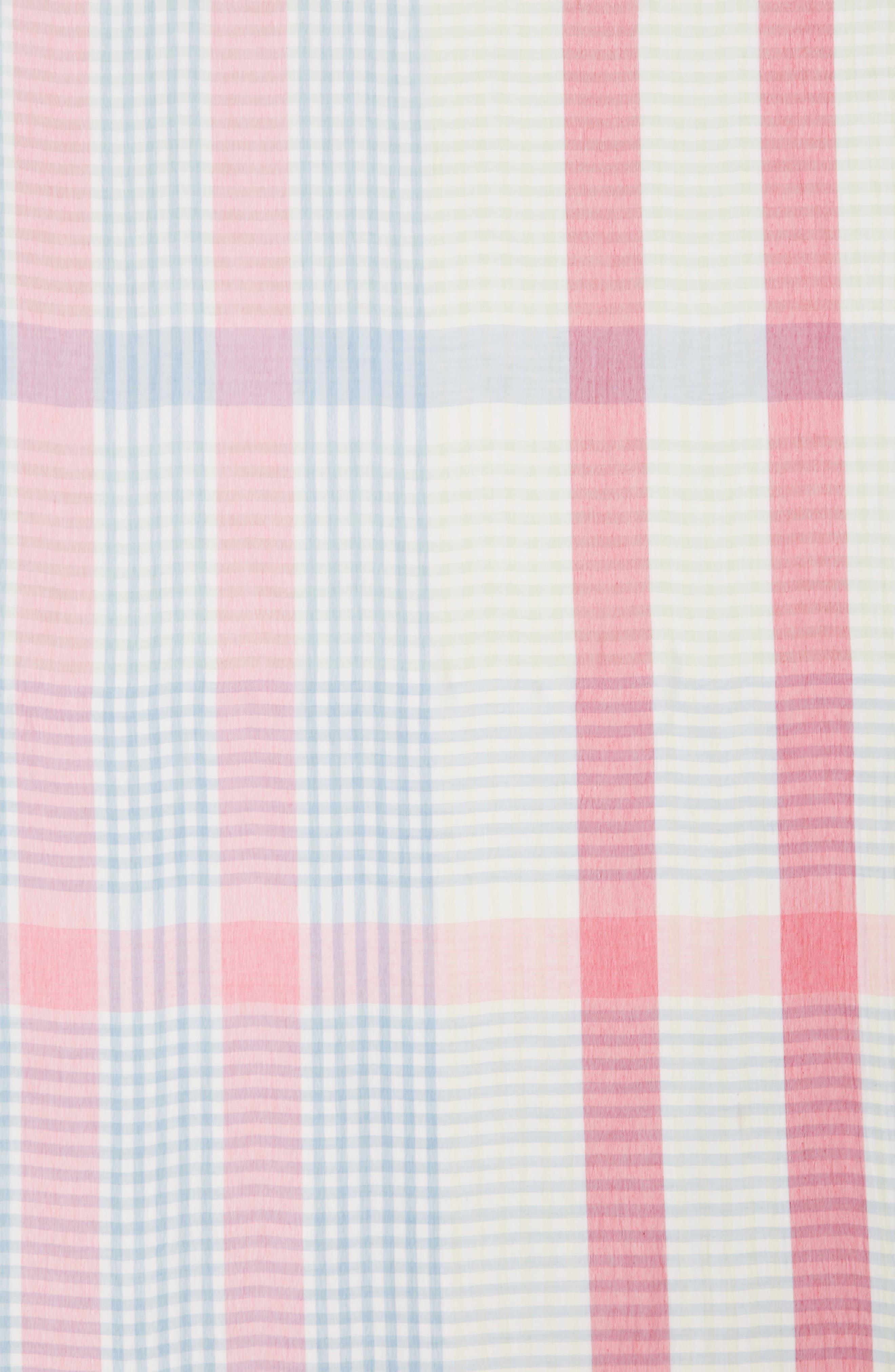 Alternate Image 4  - Nordstrom Yarn Dyed Stripe Wrap