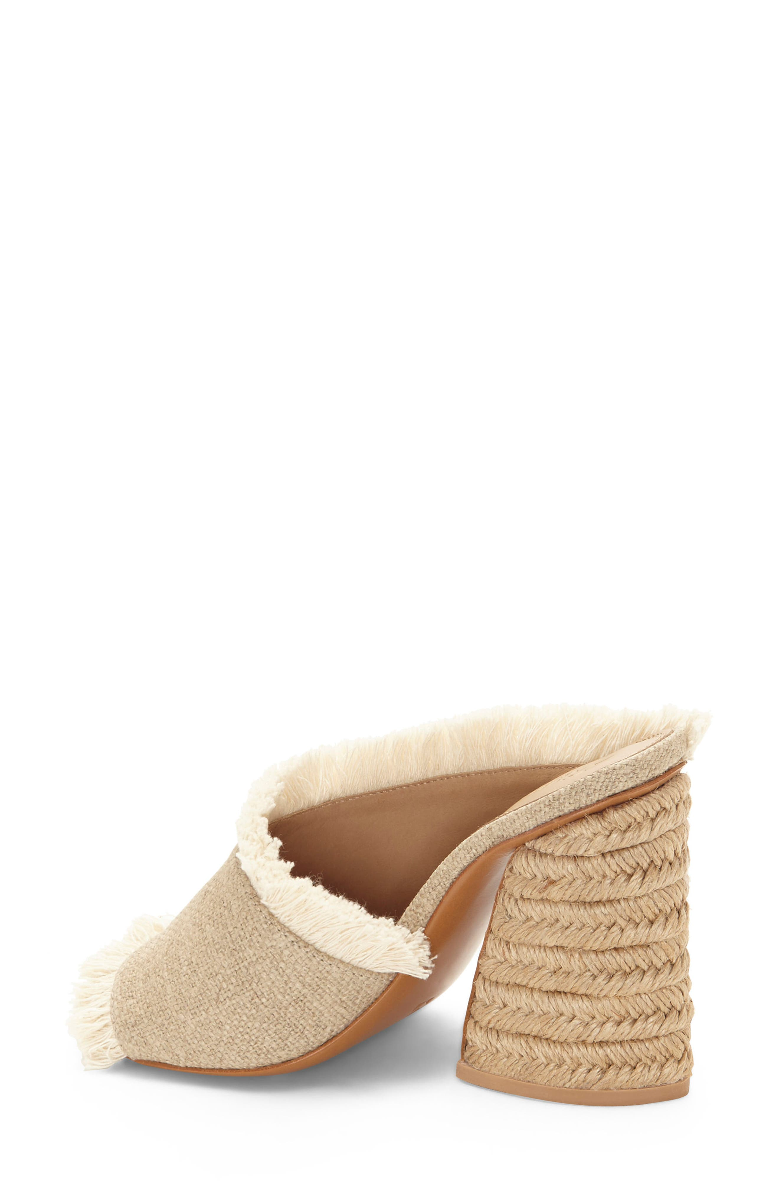 Izar Fringe Asymmetrical Sandal,                             Alternate thumbnail 2, color,                             Natural