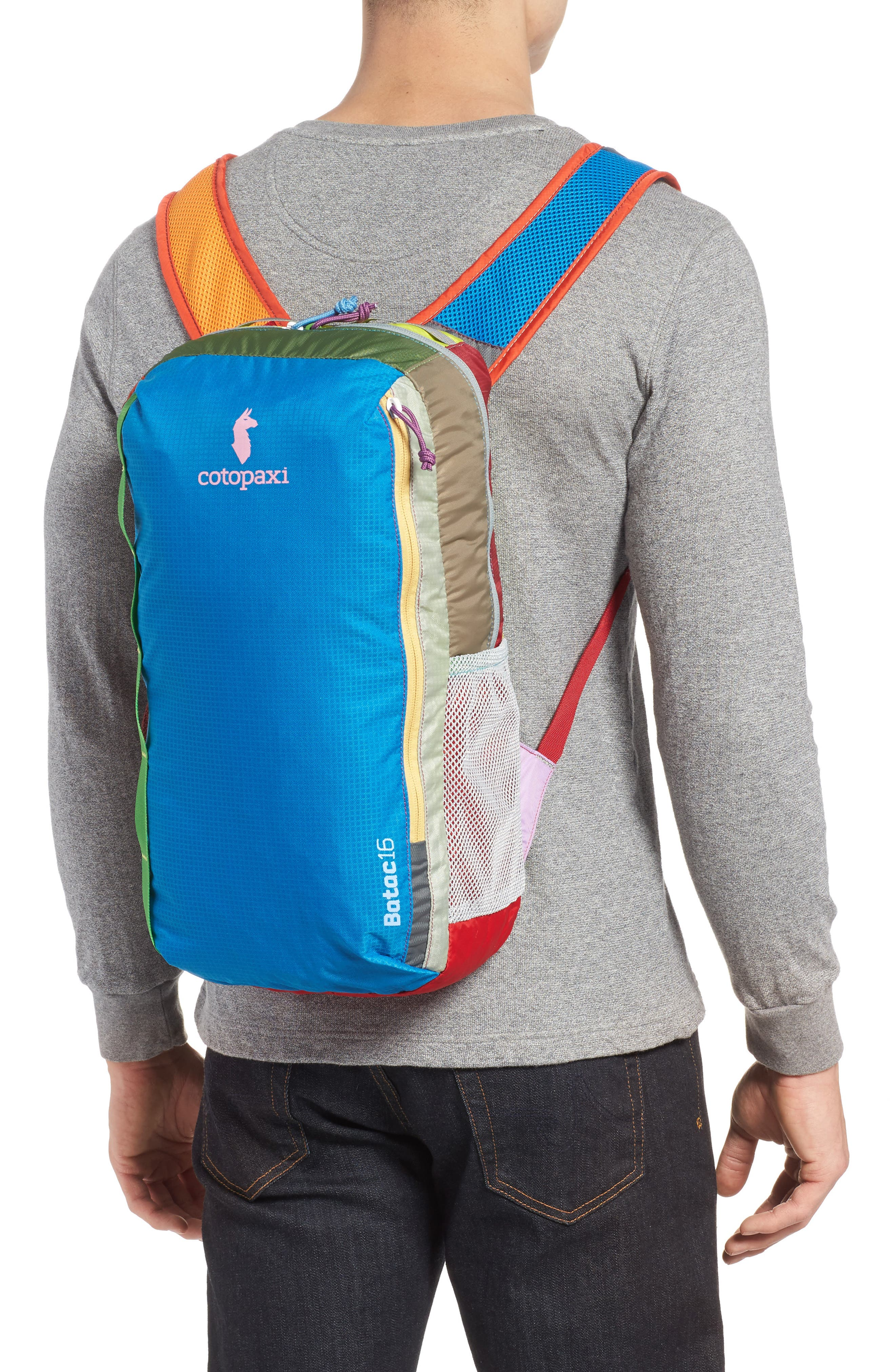 Batac Del Día One of a Kind Ripstop Nylon Daypack,                             Alternate thumbnail 2, color,                             Assorted
