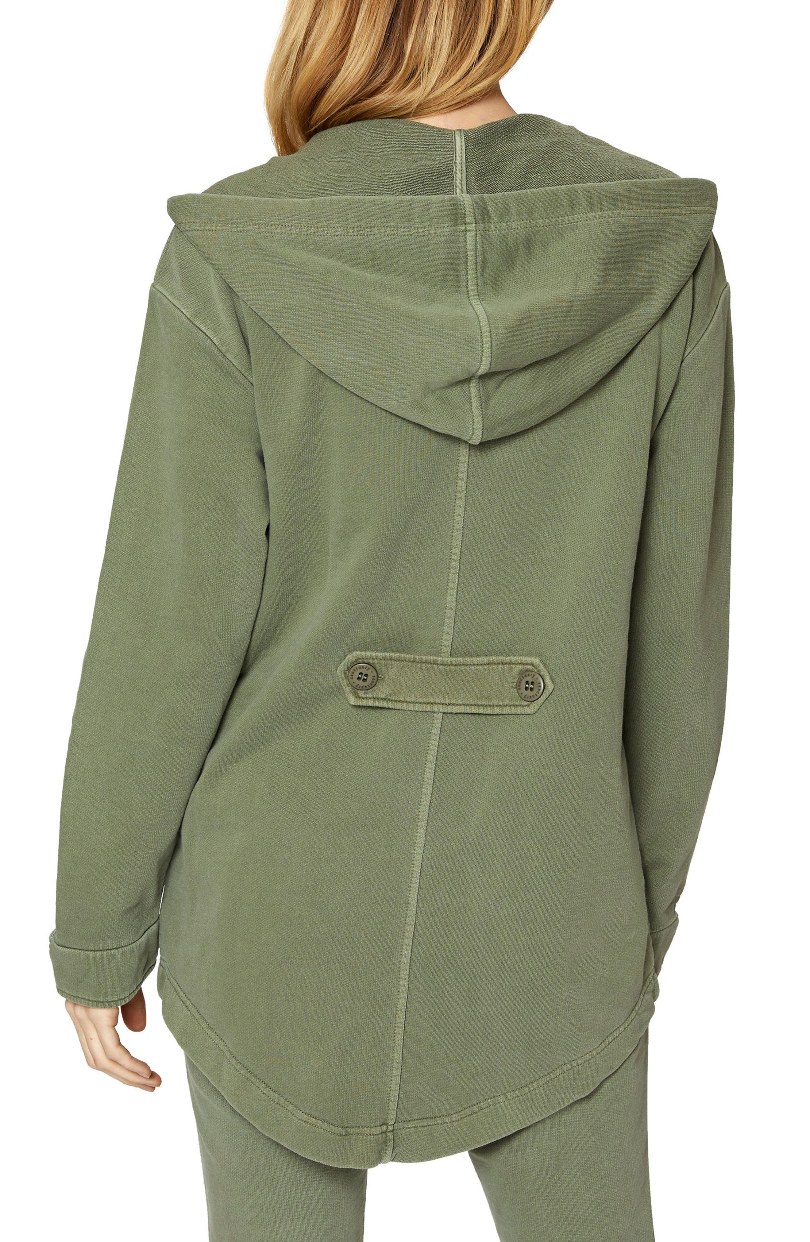 Alternate Image 2  - Sanctuary Top Rank Hooded Jacket