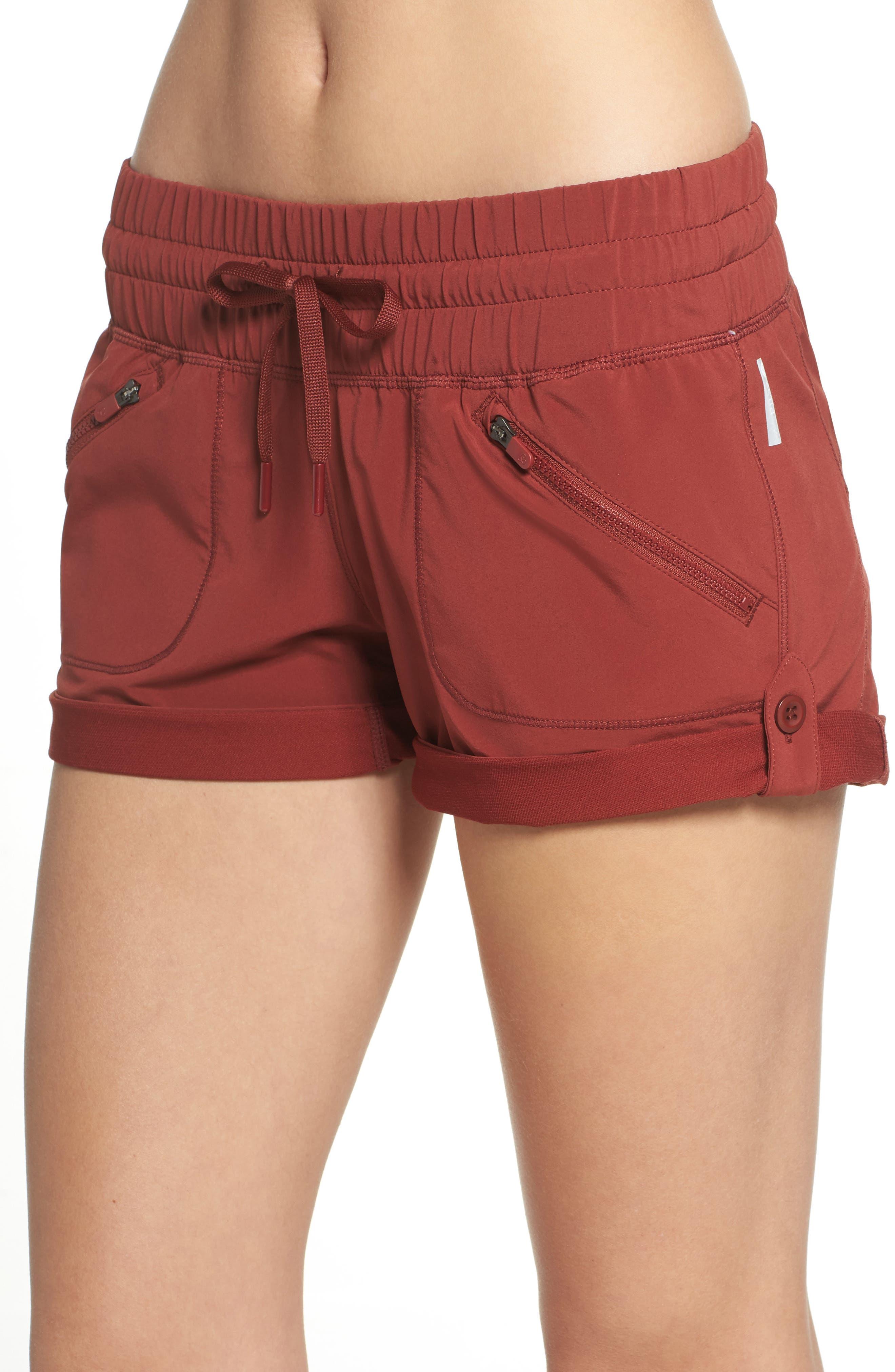 Alternate Image 4  - Zella Switchback Shorts