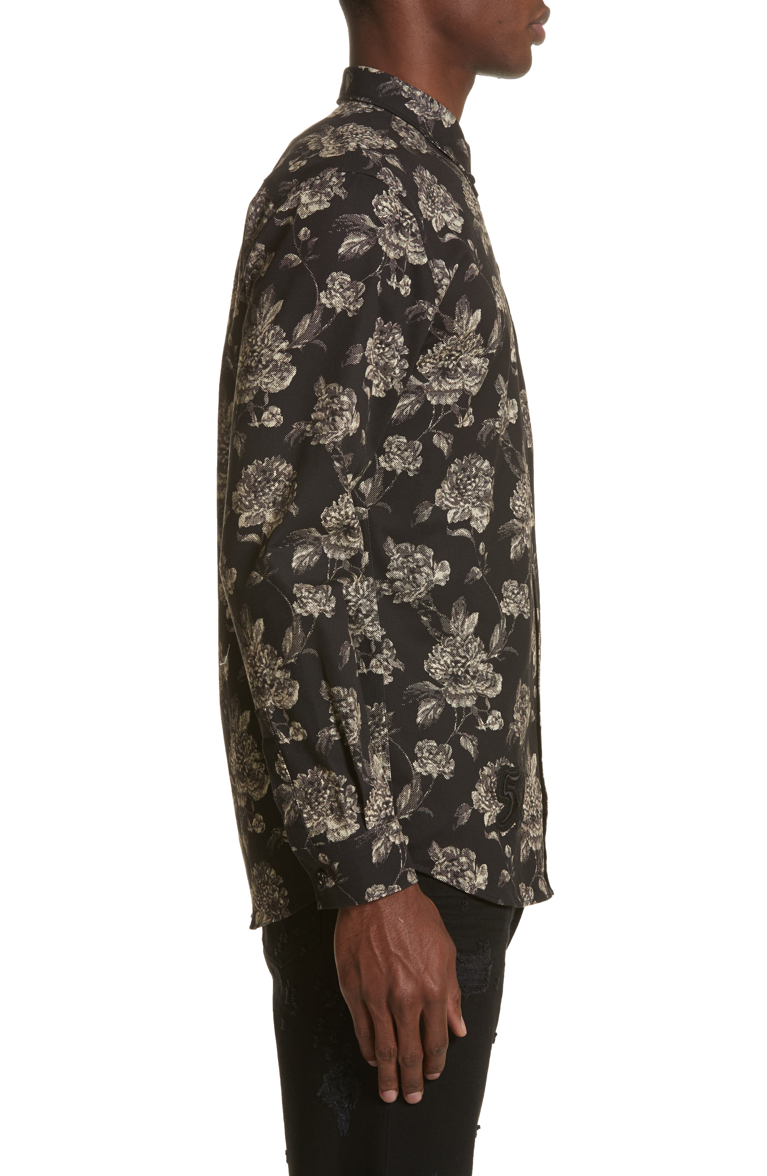 Alternate Image 3  - Givenchy Floral Print Shirt