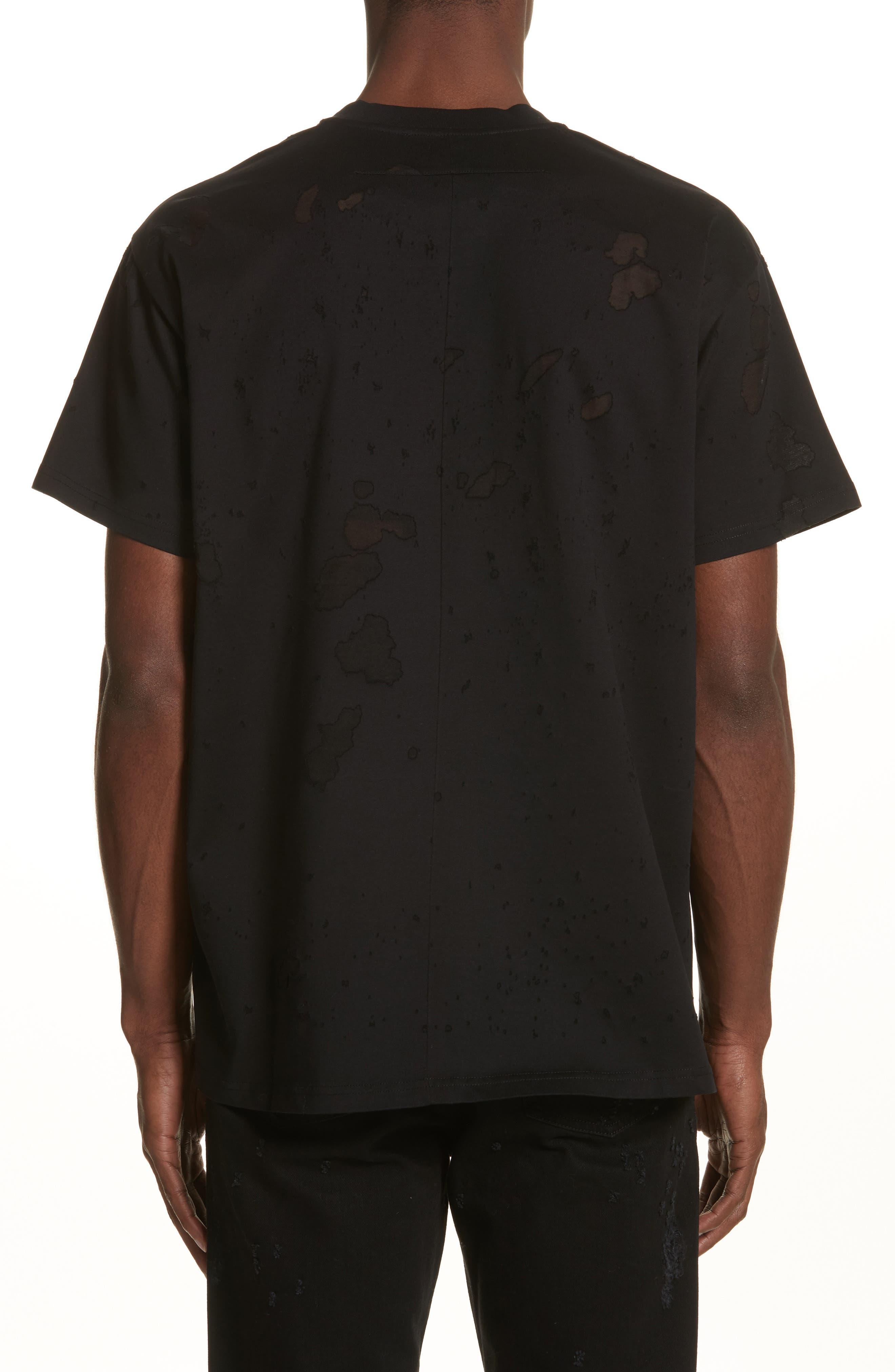 Alternate Image 2  - Givenchy Destroyed Logo Graphic T-Shirt