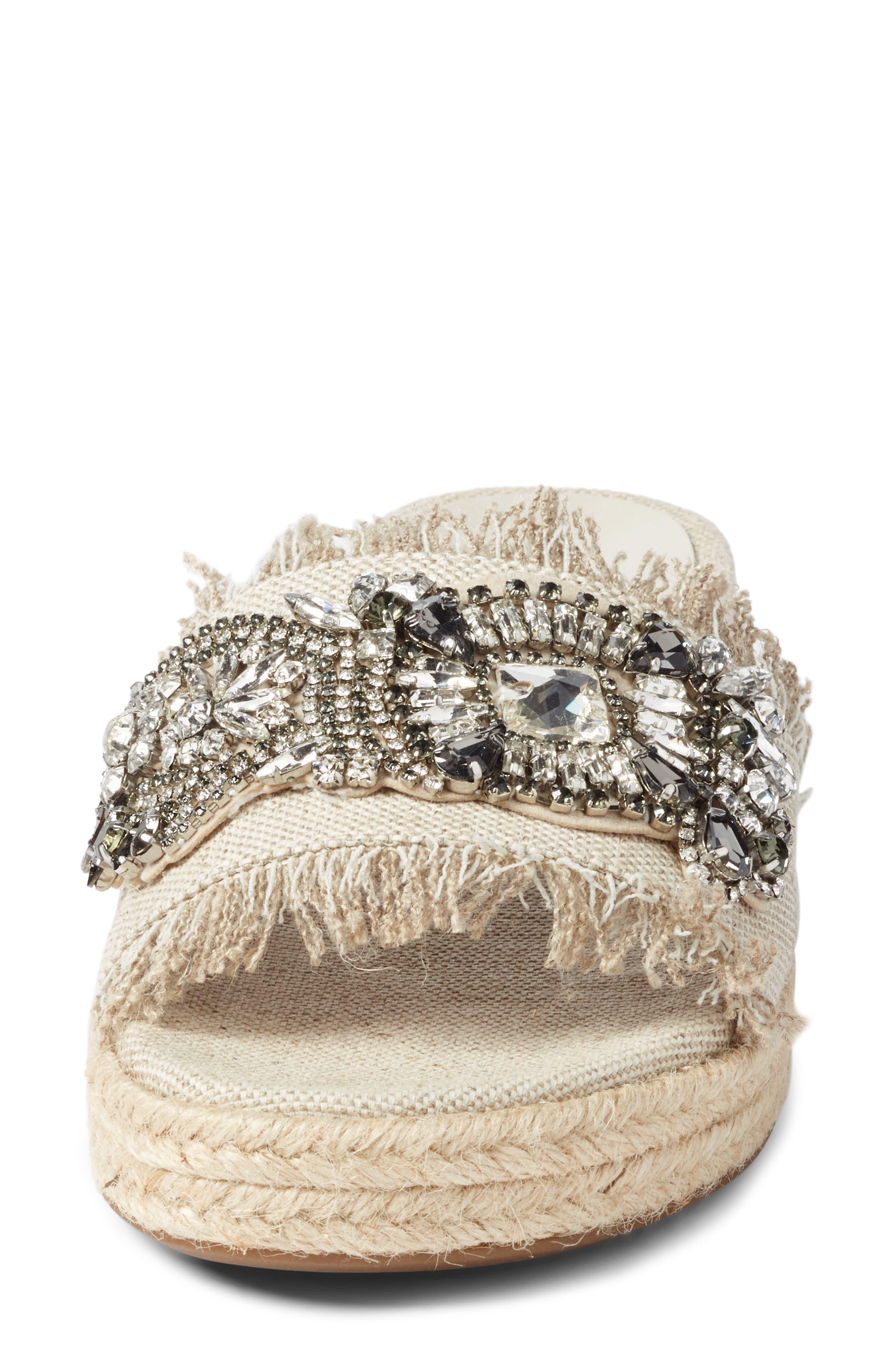 Alternate Image 4  - Marc Fisher LTD Jelly II Embellished Sandal (Women)