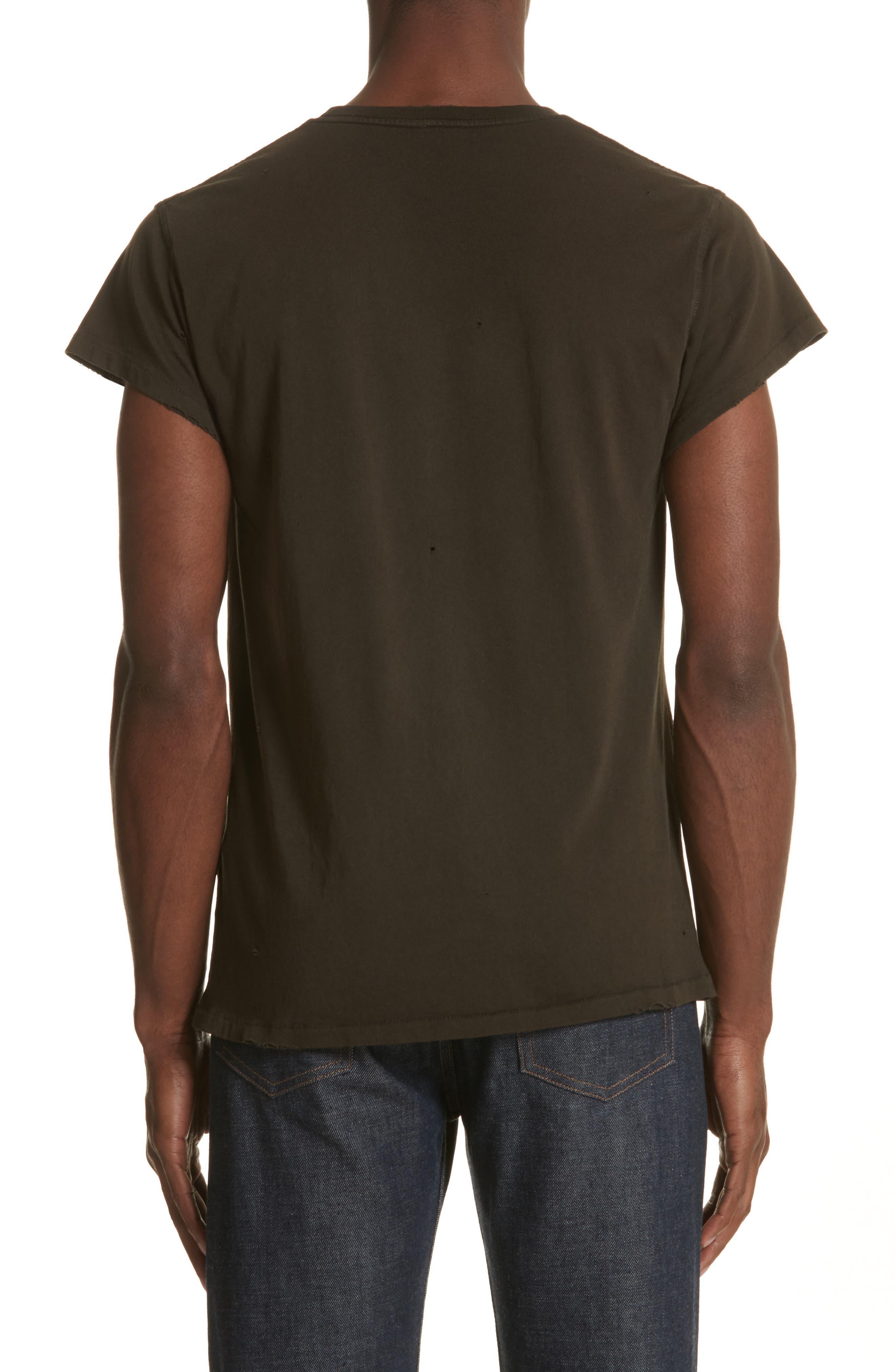 Ramones Graphic T-Shirt,                             Alternate thumbnail 2, color,                             Dirty Black