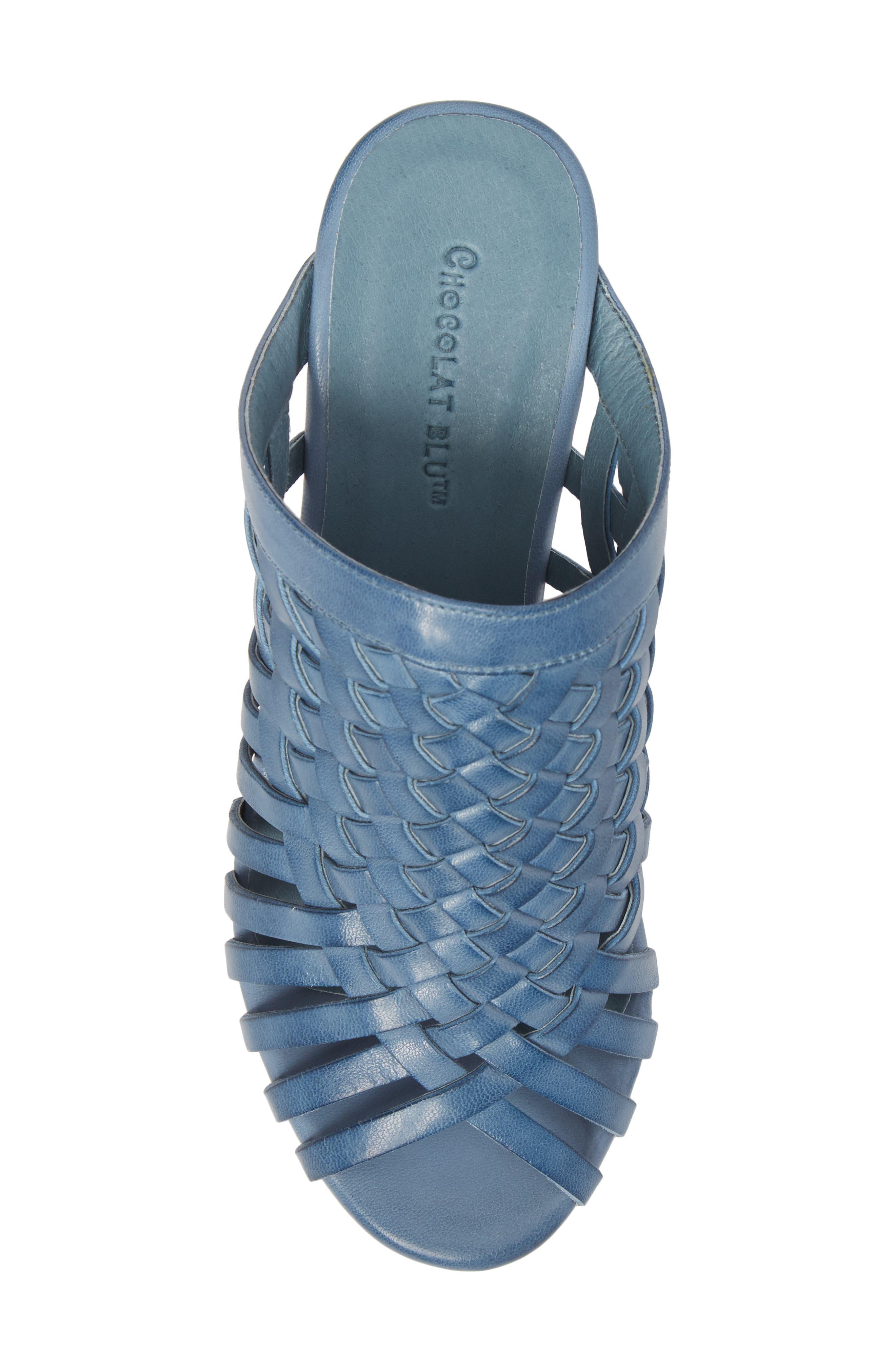 Alternate Image 5  - Chocolat Blu Walda Platform Wedge Sandal (Women)