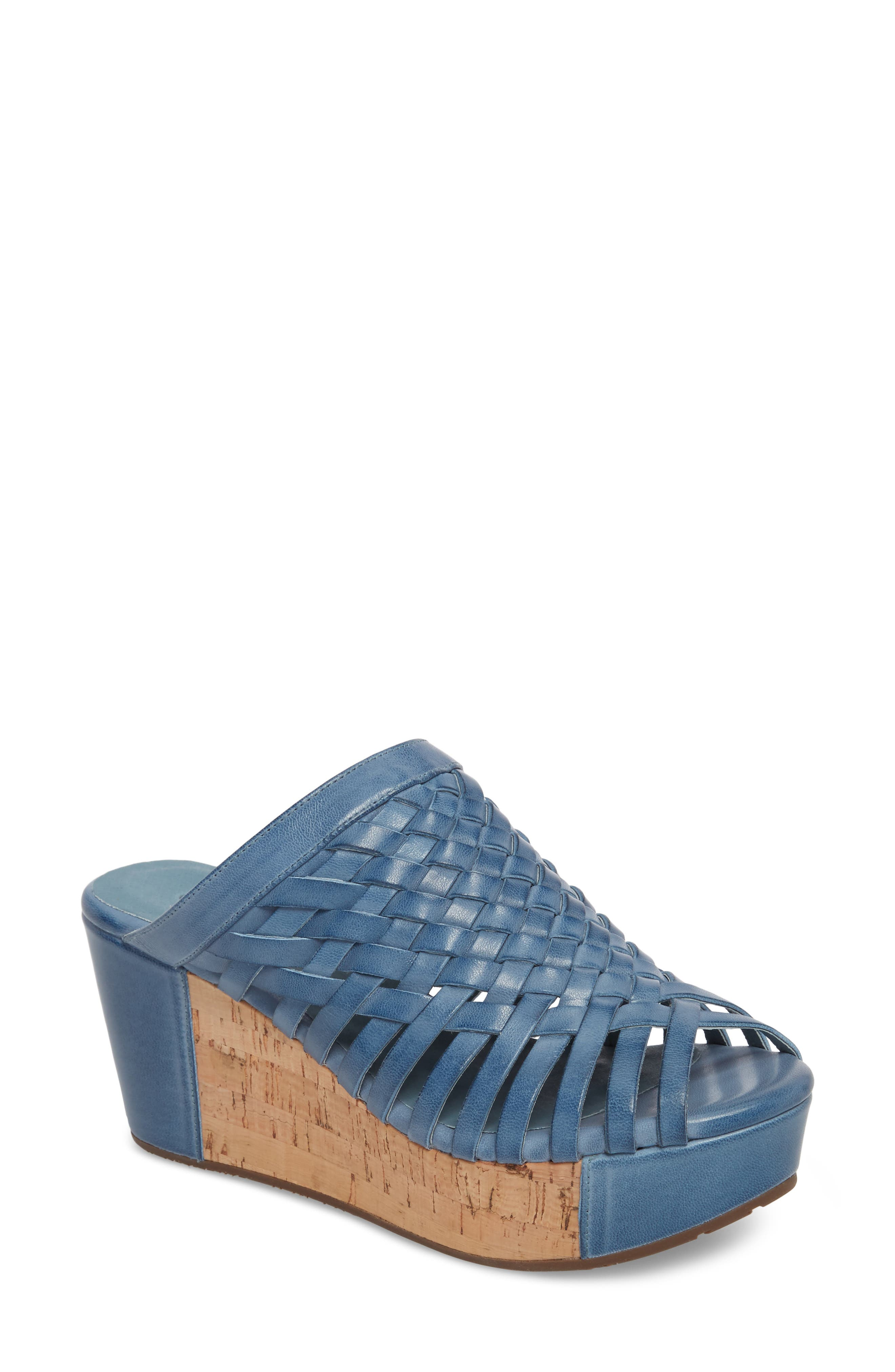 Alternate Image 1 Selected - Chocolat Blu Walda Platform Wedge Sandal (Women)