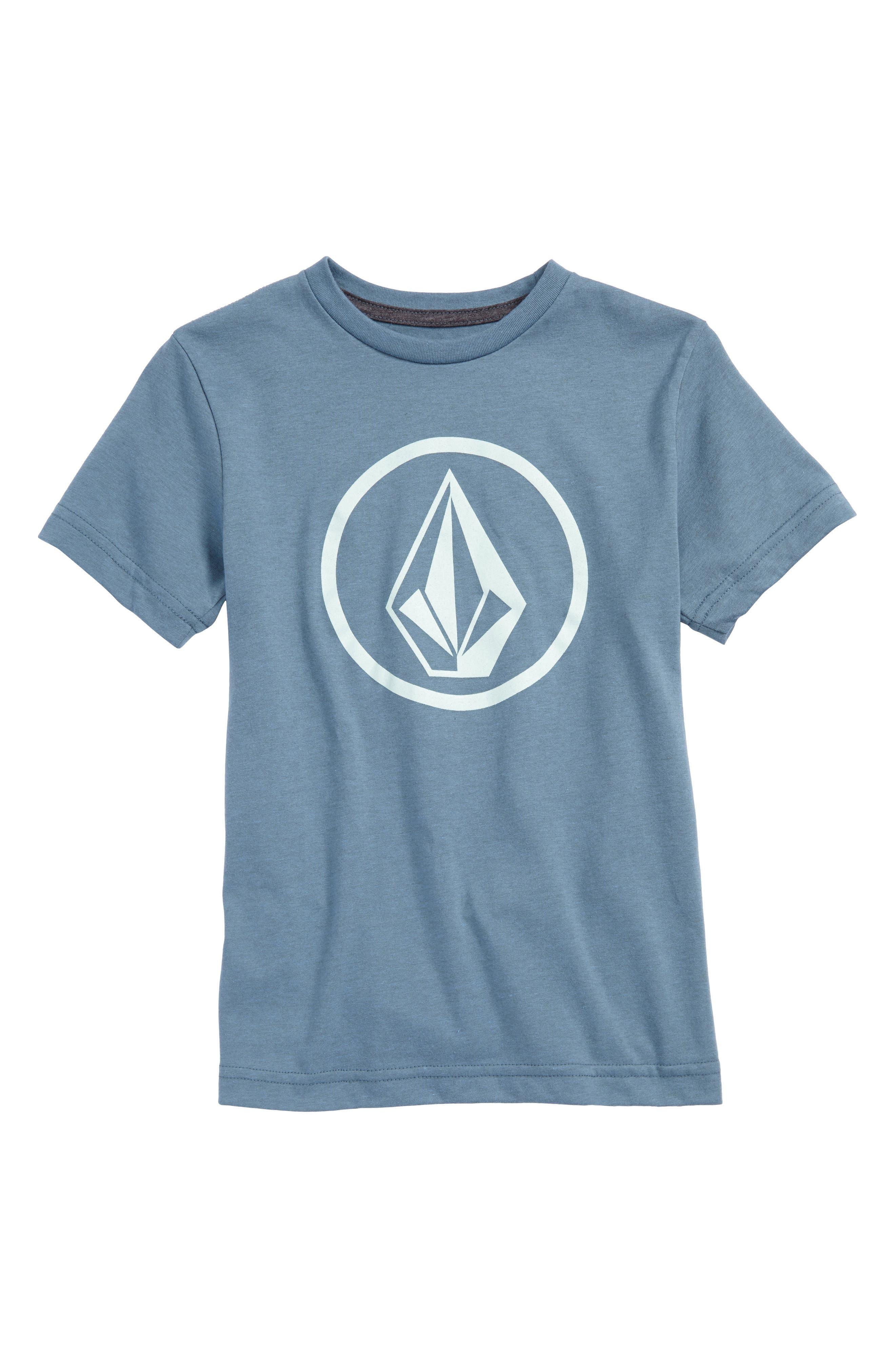 Circle Stone Logo Graphic T-Shirt,                         Main,                         color, Wrecked Indigo