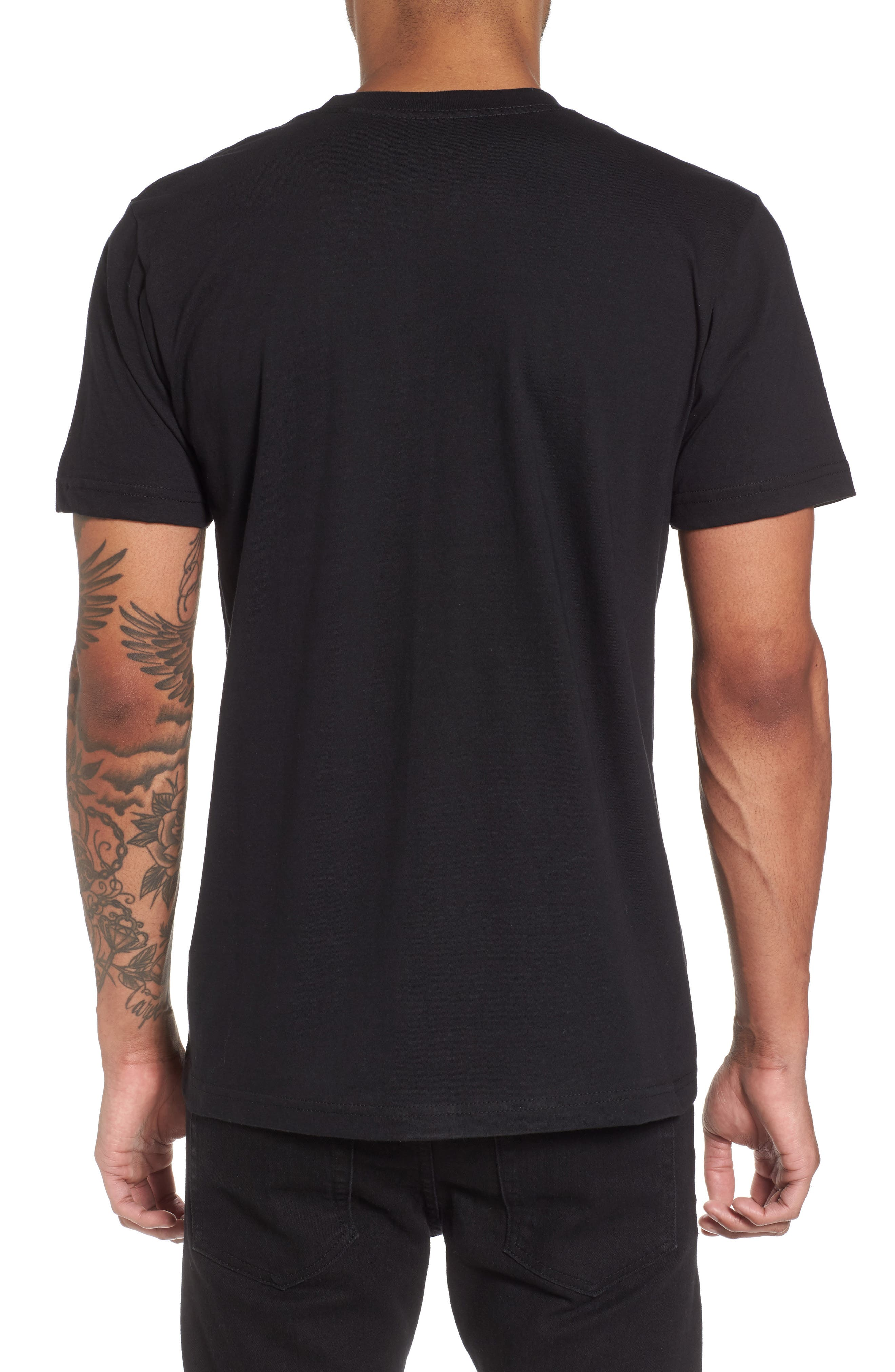 Alternate Image 2  - Casual Industrees Damn the Rest Trail Map T-Shirt