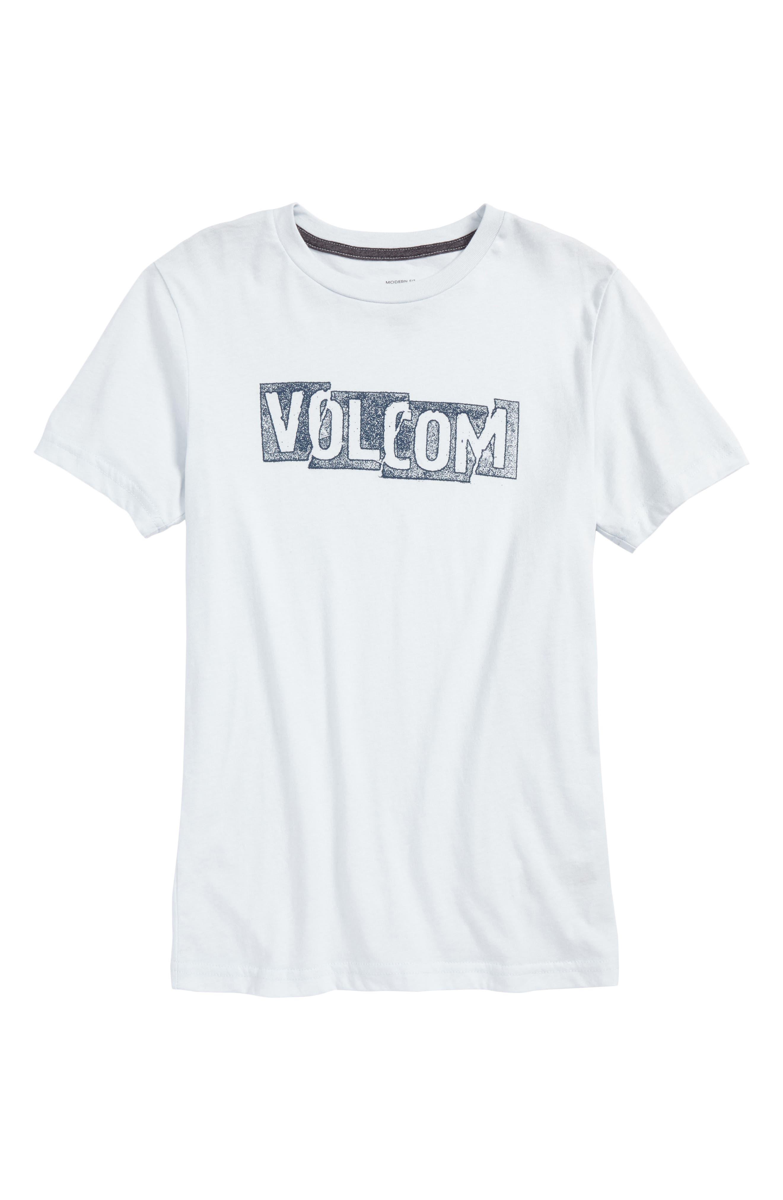 Main Image - Volcom Edge Logo Graphic T-Shirt (Big Boys)