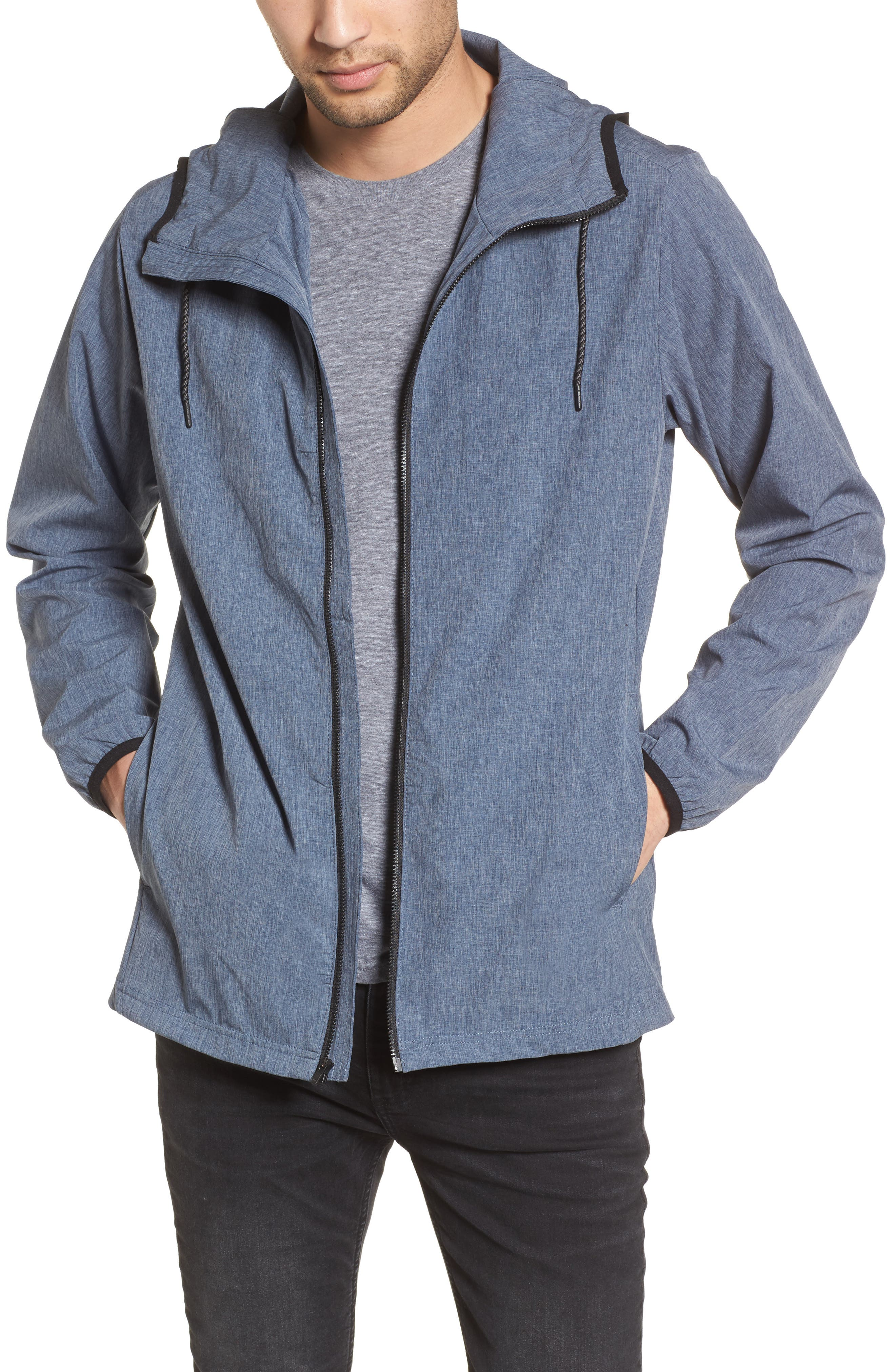 Protect Stretch 2.0 Jacket,                             Main thumbnail 1, color,                             Obsidian