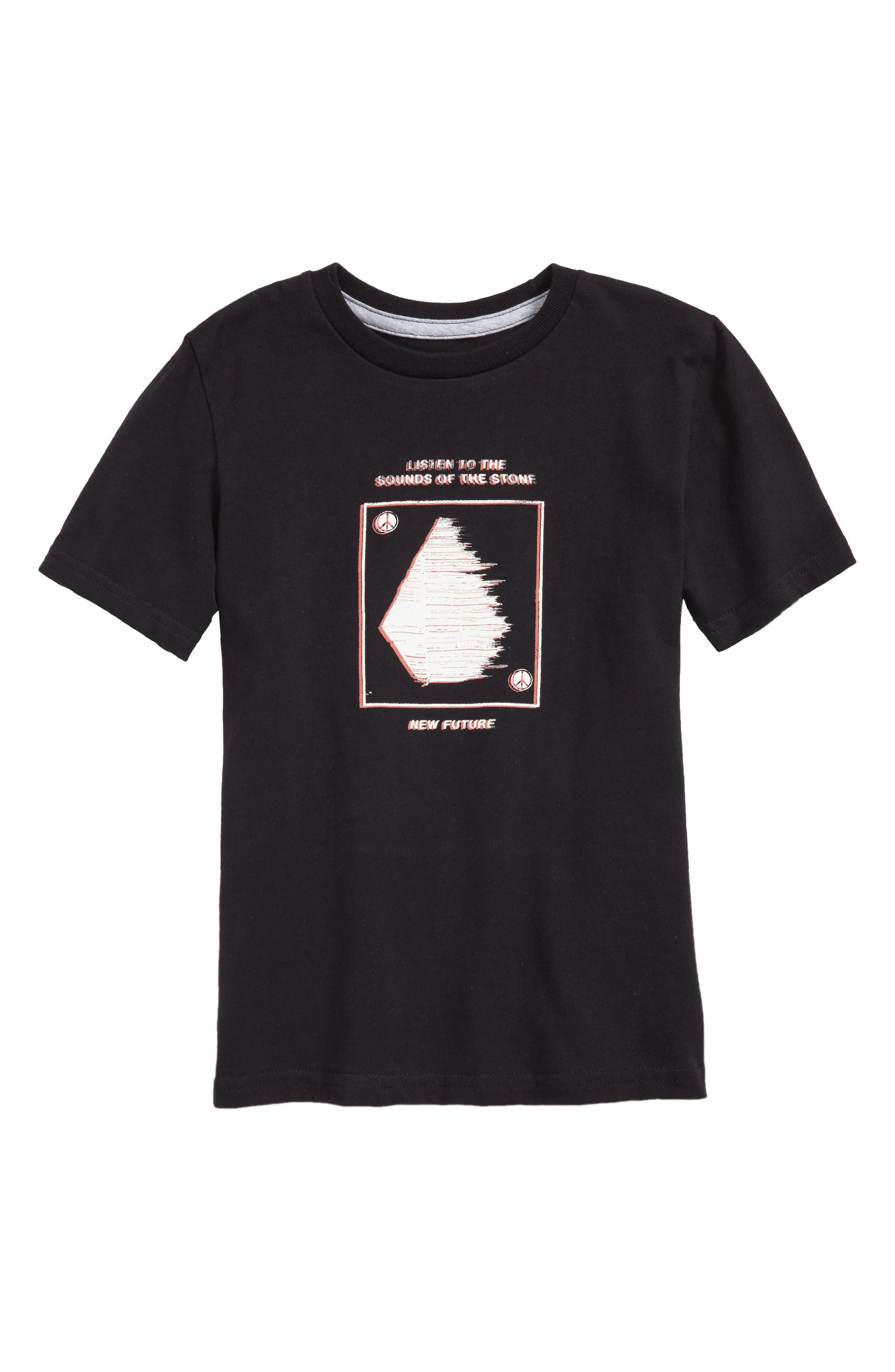 Sound T-Shirt,                             Main thumbnail 1, color,                             Black