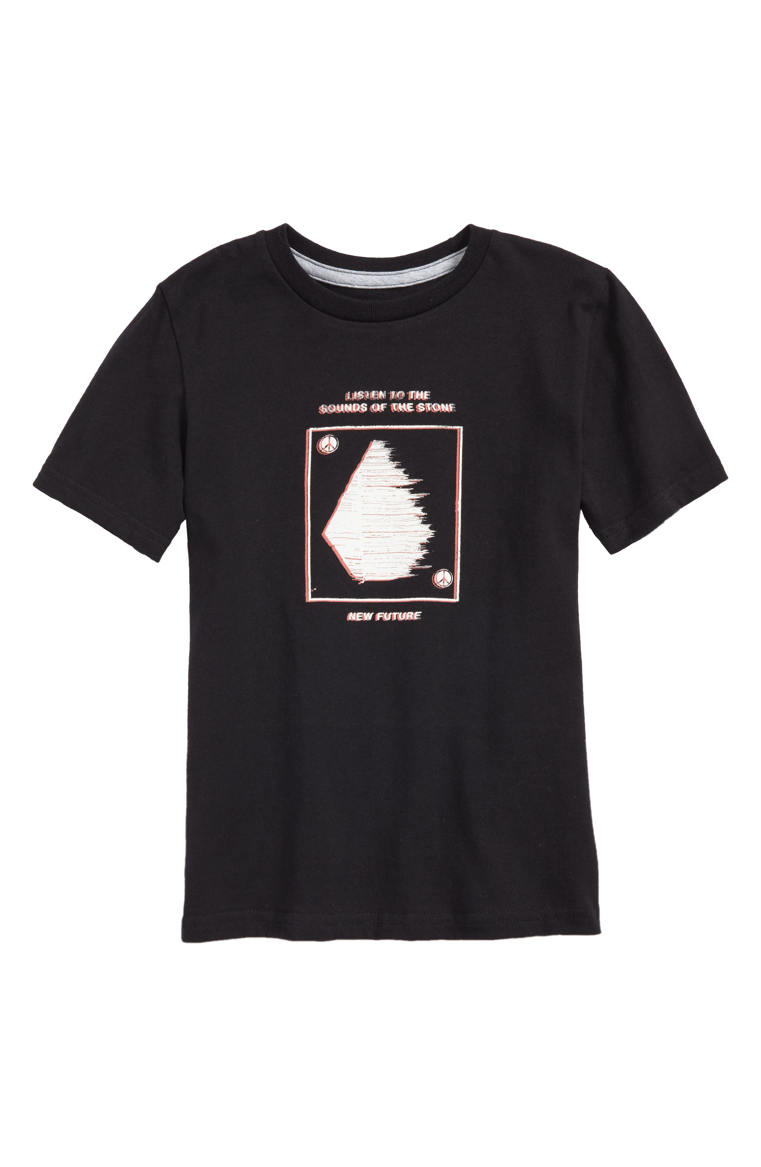 Sound T-Shirt,                         Main,                         color, Black