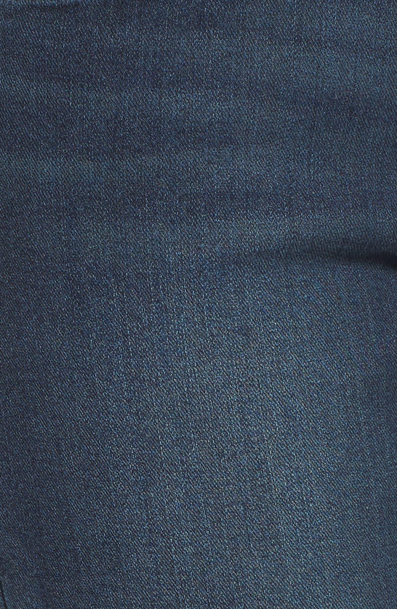 Alternate Image 5  - Leith Skinny Jeans (Medium Wash)