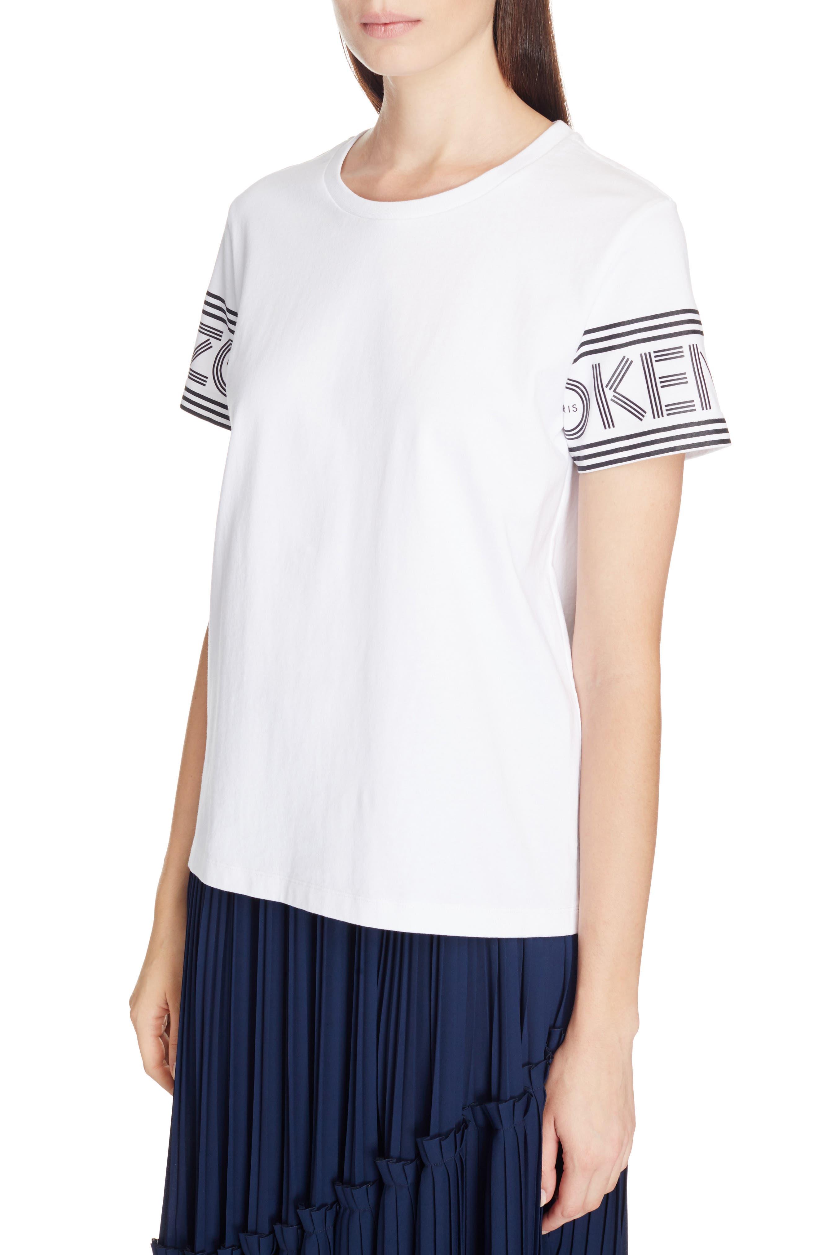 Alternate Image 4  - KENZO Sport Logo Sleeve Tee