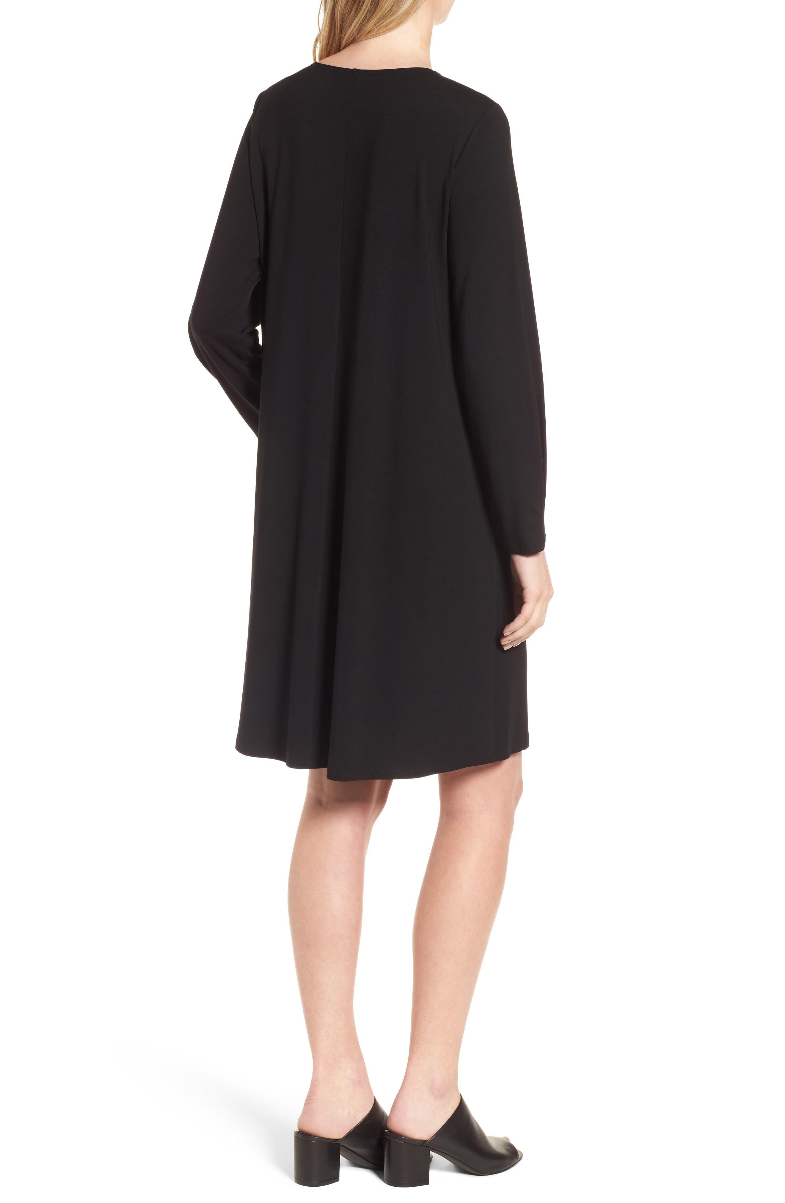 Alternate Image 2  - Eileen Fisher Jersey Shift Dress