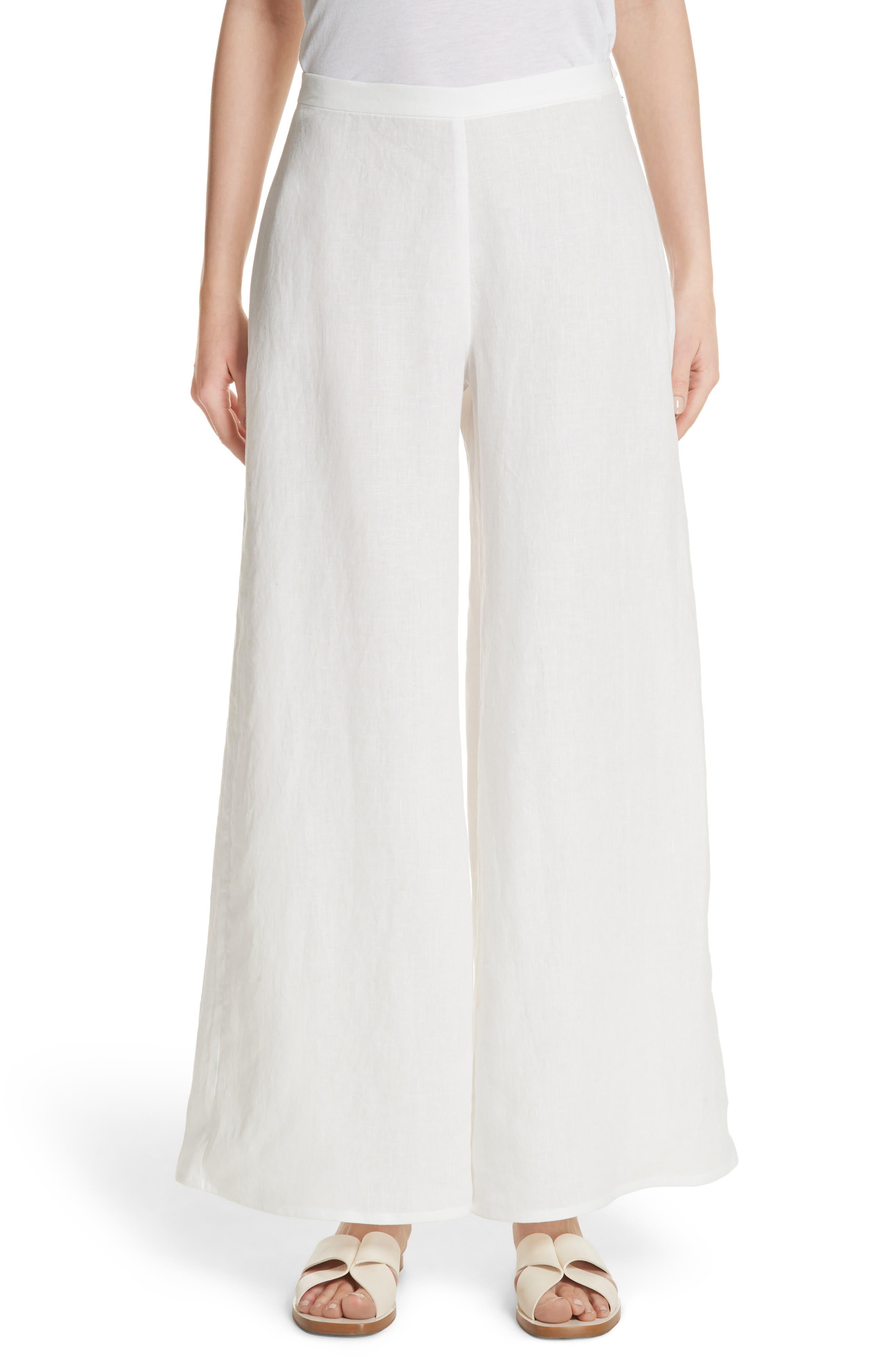 Aliso Wide Leg Pants,                         Main,                         color, White