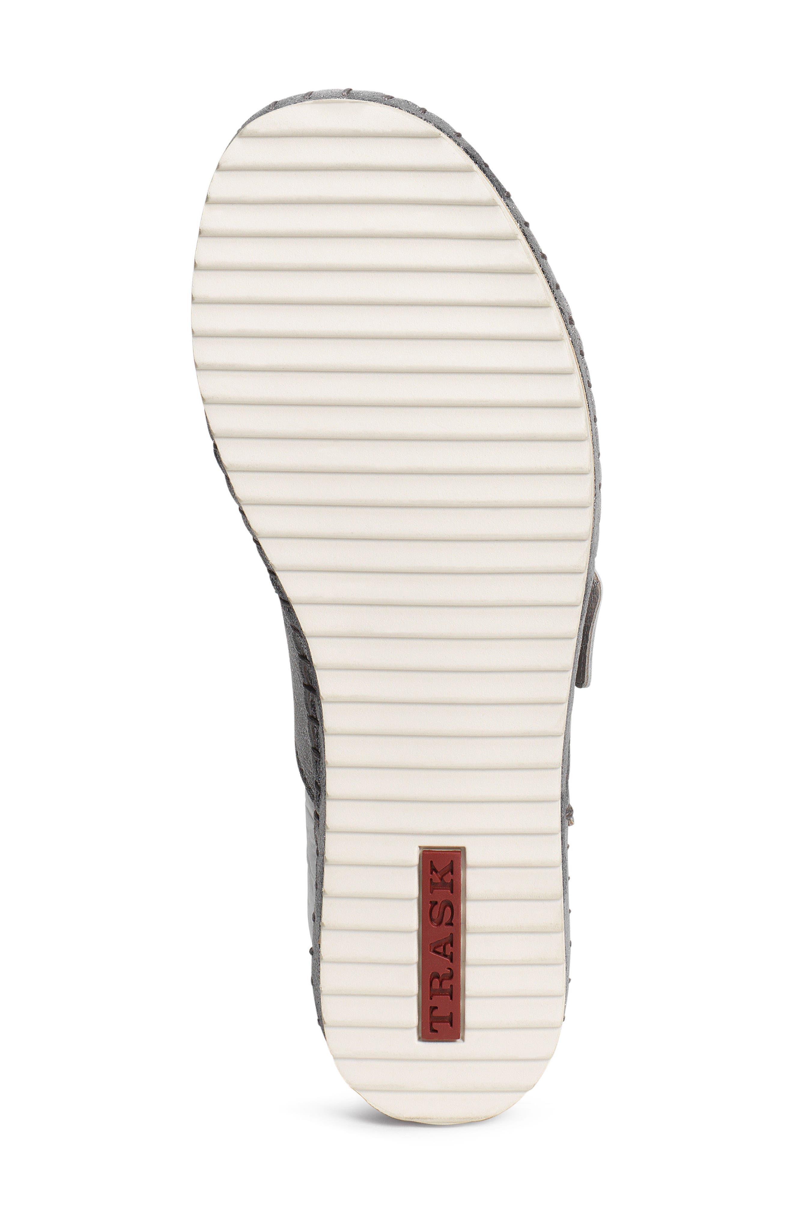 Carli Slide Sandal,                             Alternate thumbnail 5, color,                             Pewter Camo Metallic Suede