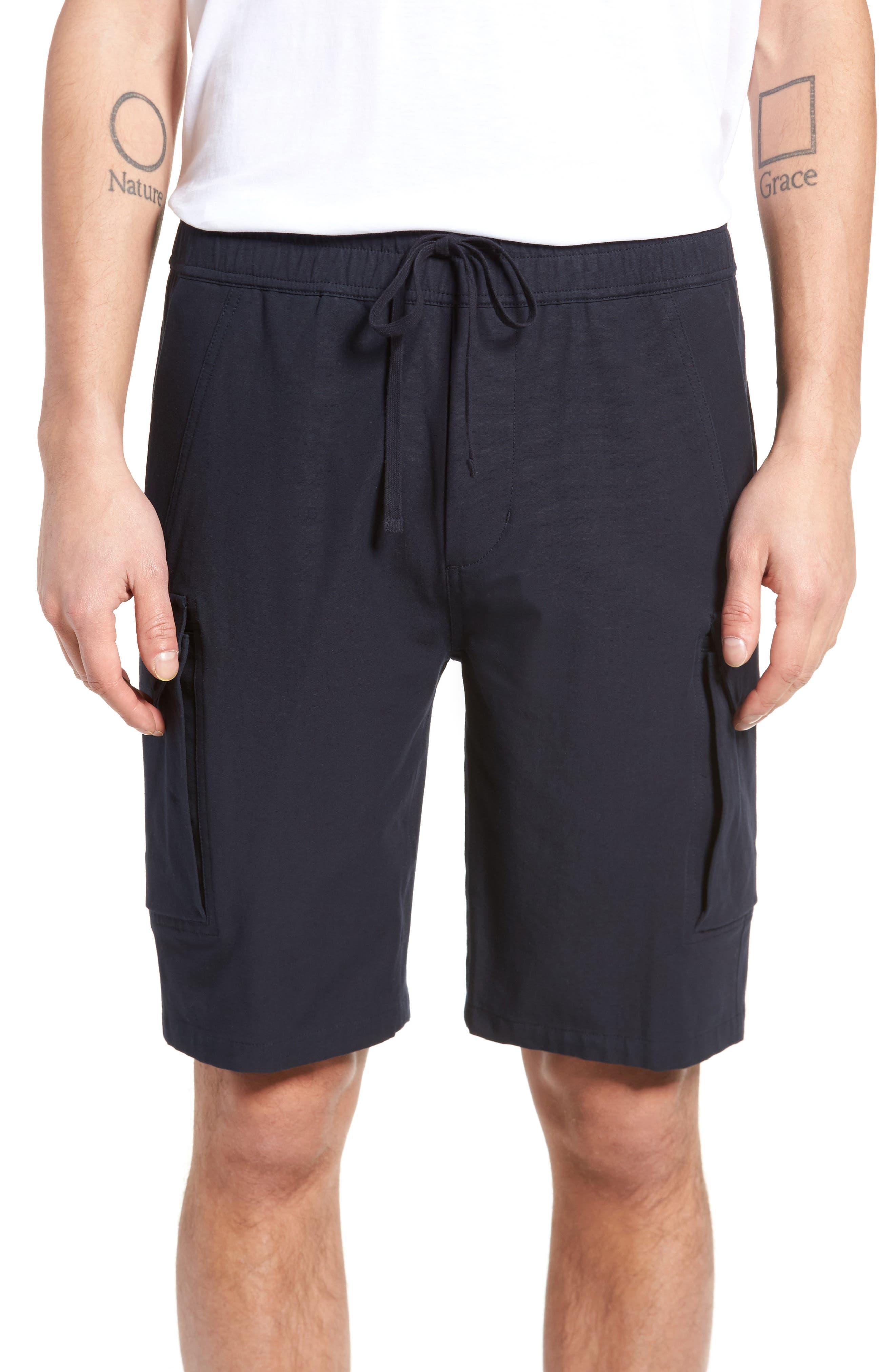 Regular Fit Drawstring Shorts,                             Main thumbnail 1, color,                             New Coastal