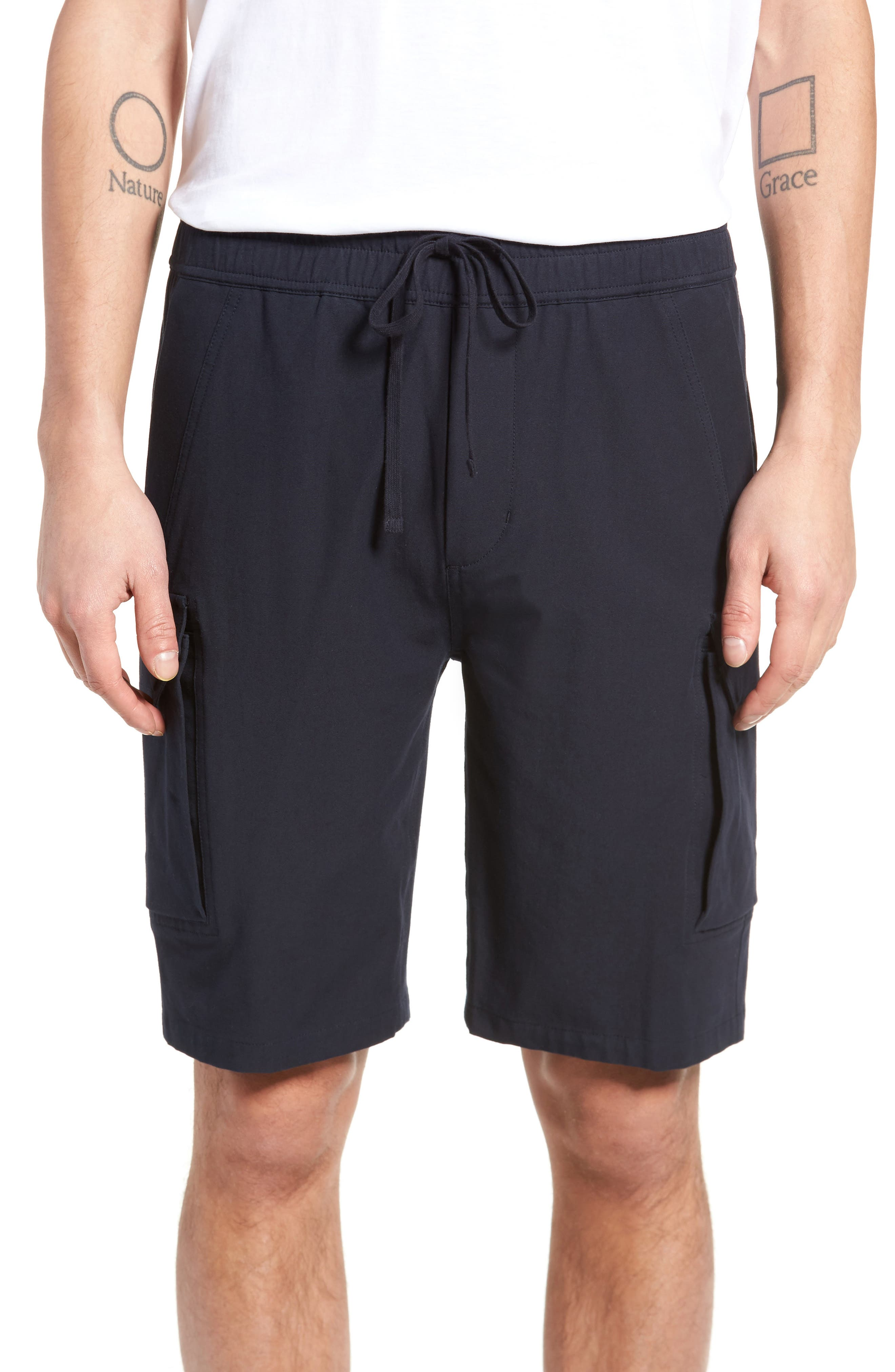 Vince Regular Fit Drawstring Shorts