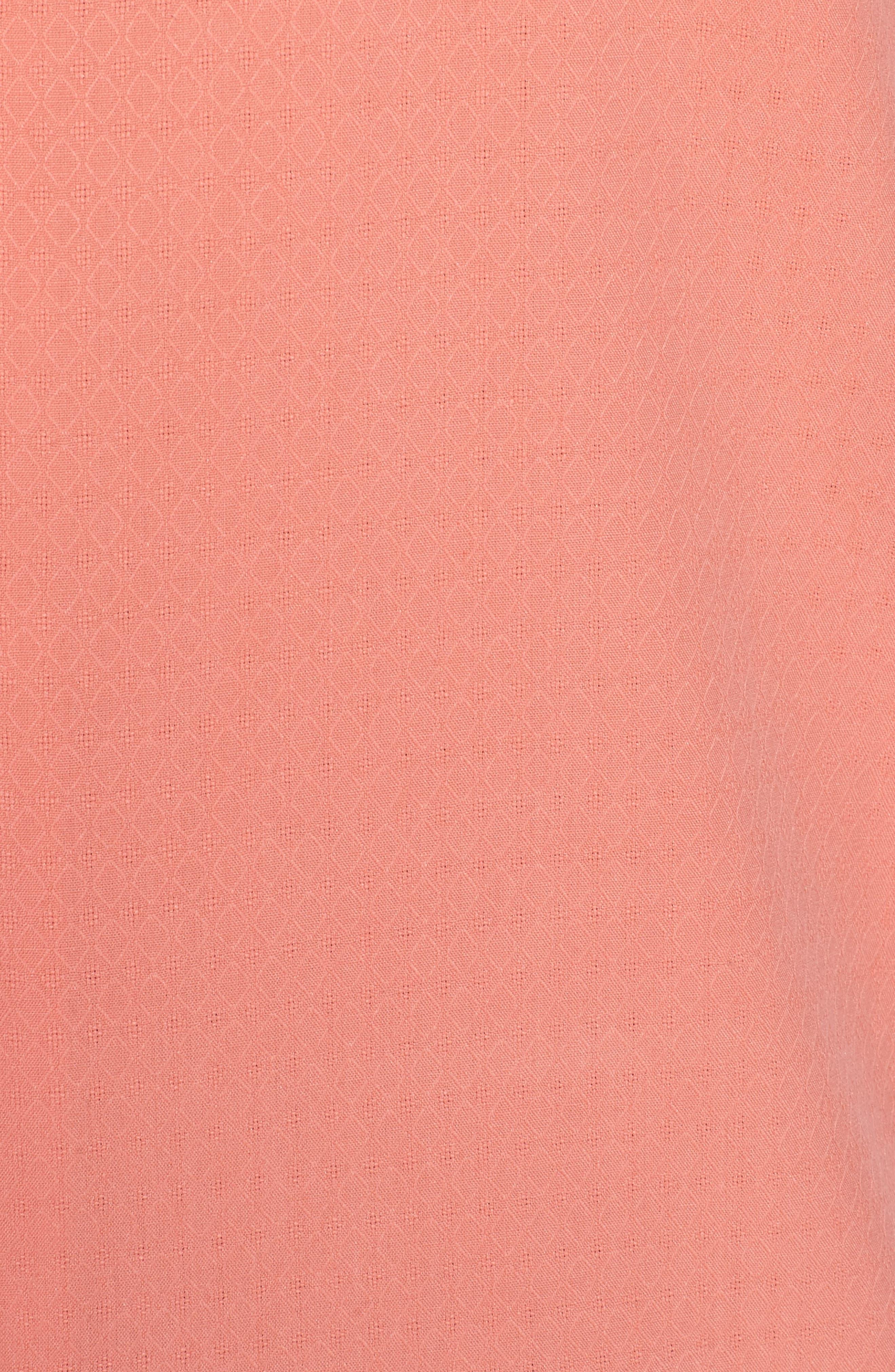 Alternate Image 5  - Tommy Bahama Oasis Jacquard Silk Sport Shirt