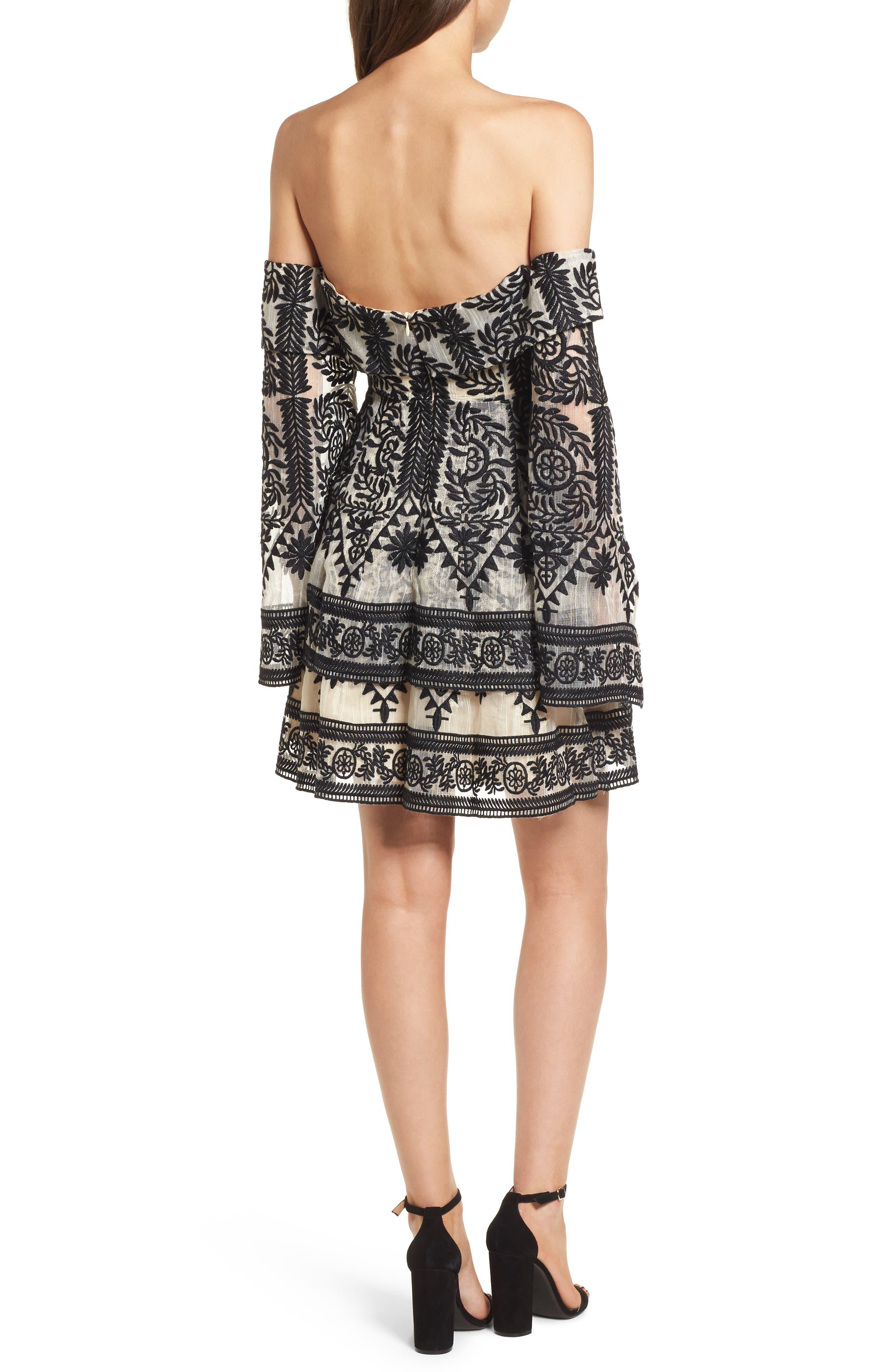 Alternate Image 2  - Elliatt Antoinette Off the Shoulder Dress