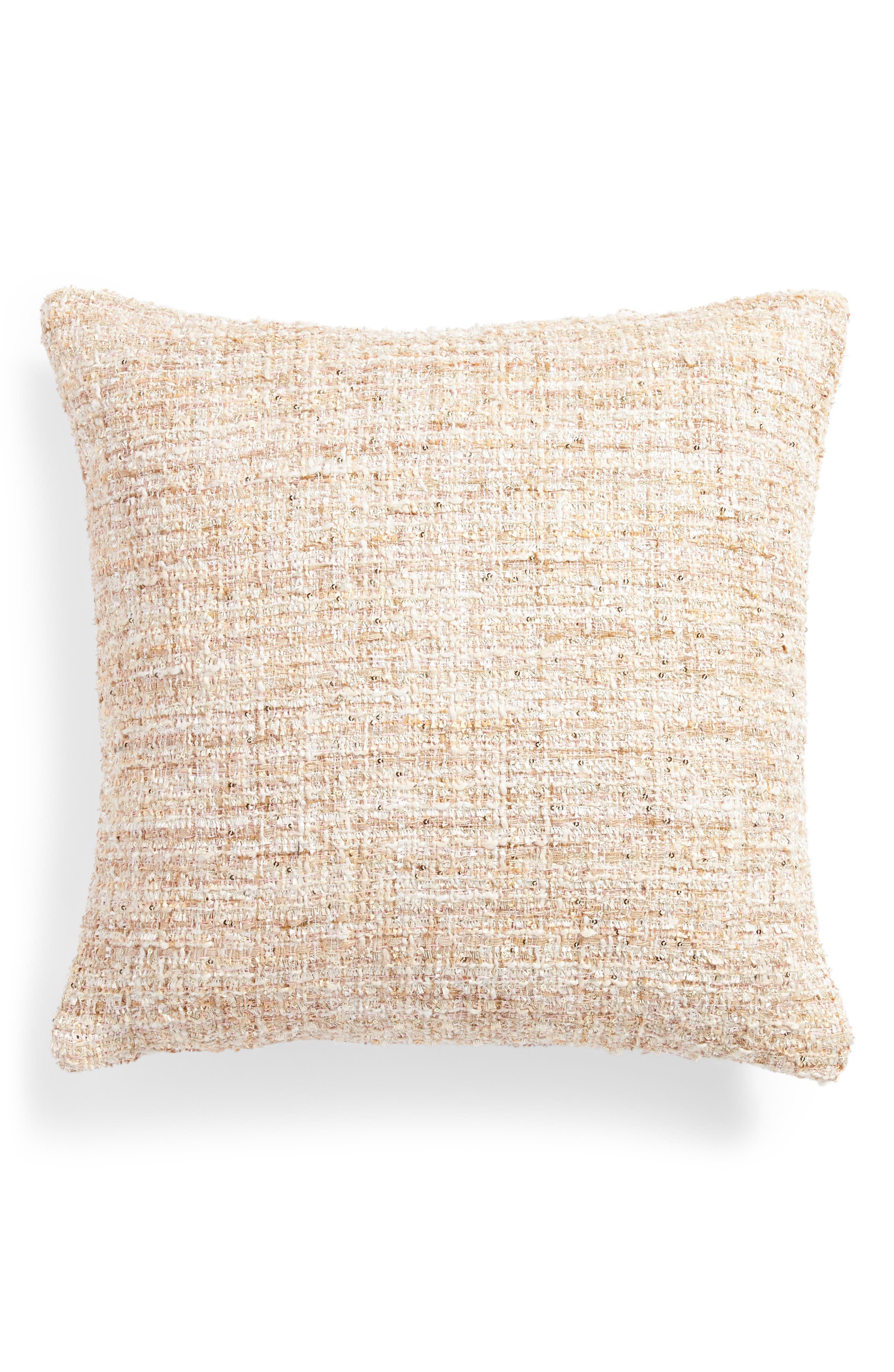 Bride Chilla Accent Pillow,                             Alternate thumbnail 2, color,                             Blush
