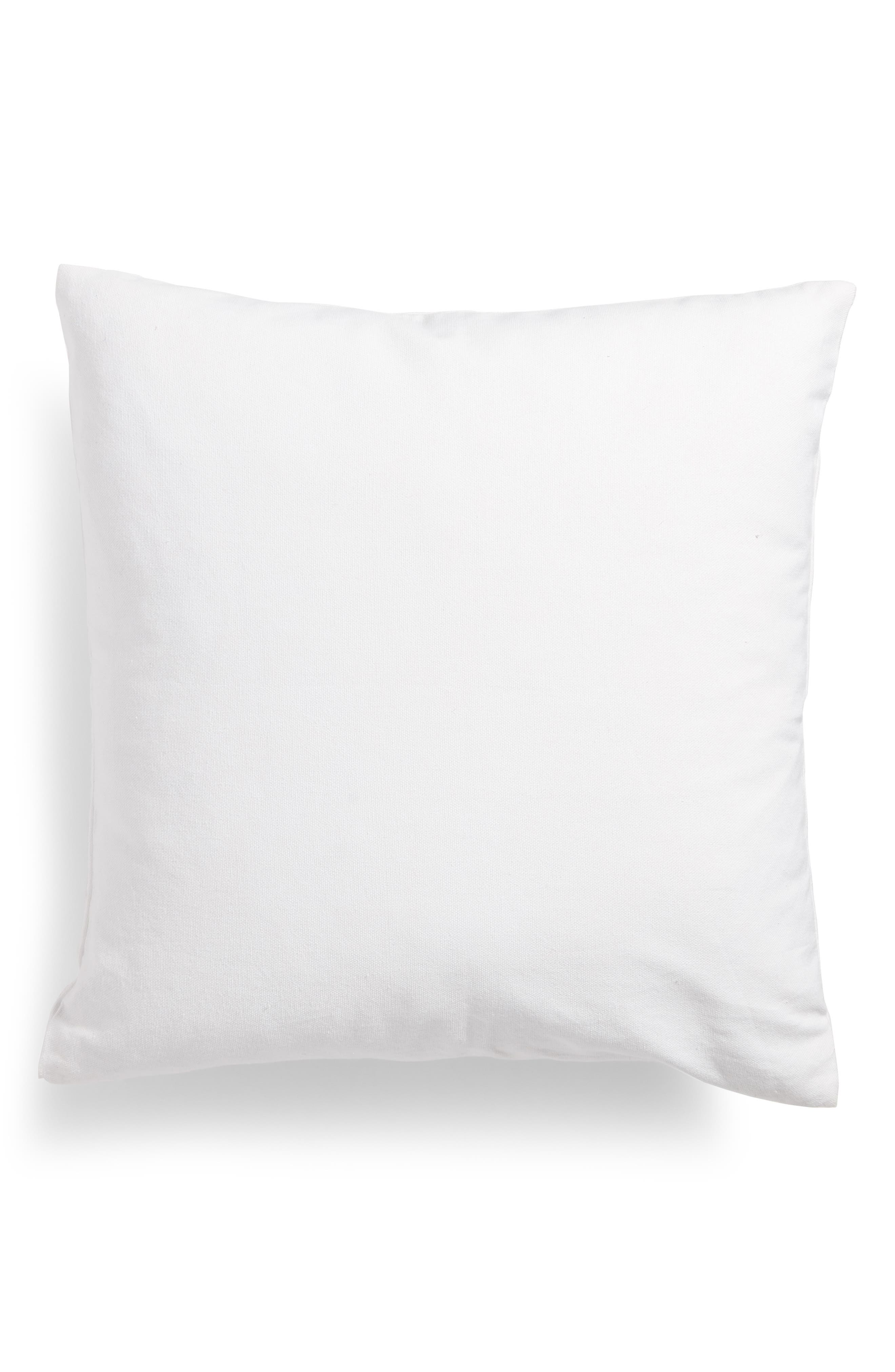 Bree Embroidered Accent Pillow,                             Alternate thumbnail 2, color,                             White