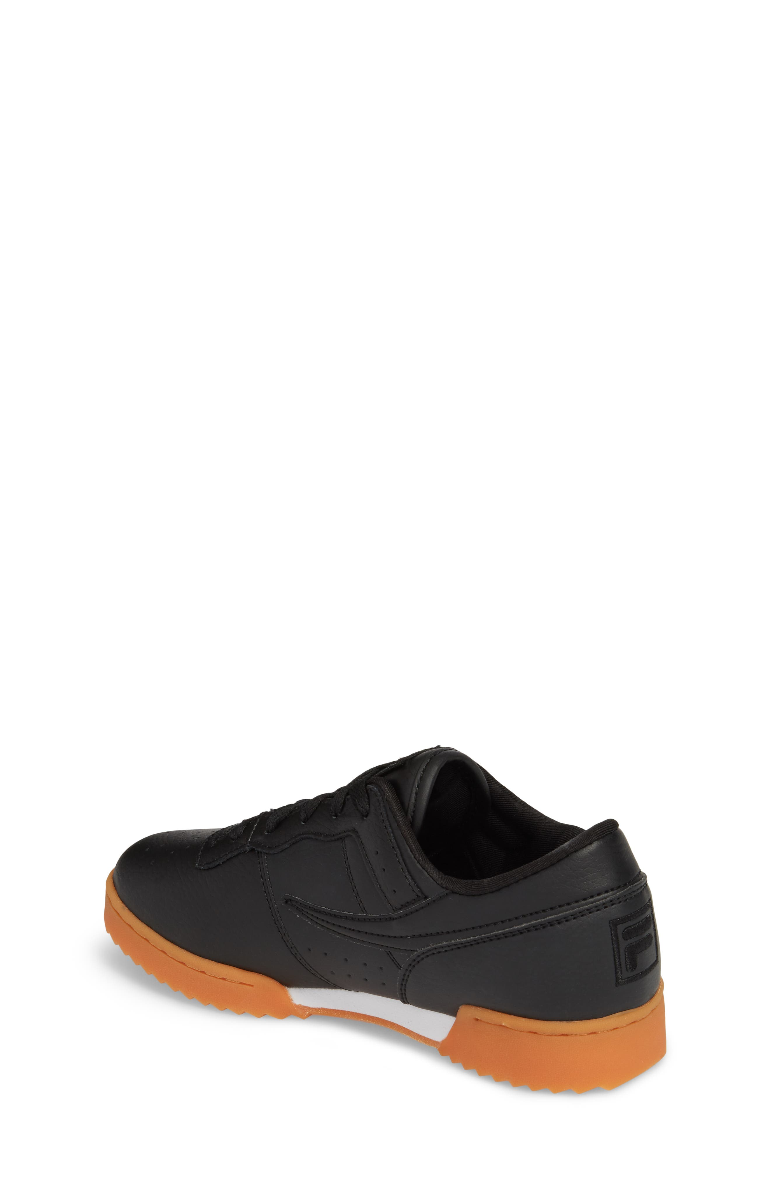 Original Fitness Sneaker,                             Alternate thumbnail 2, color,                             Black/ Gum