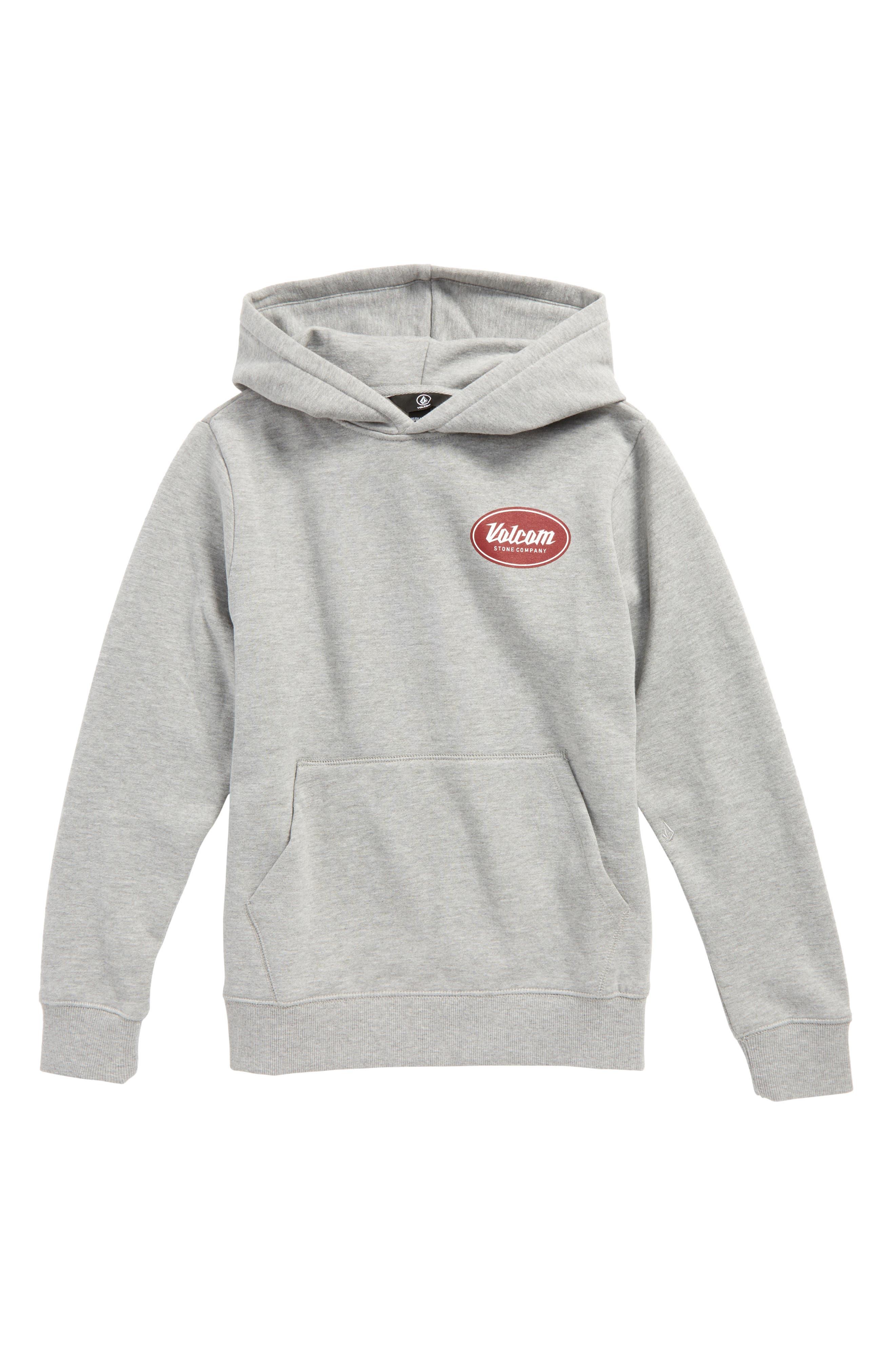 Supply Stone Hoodie,                         Main,                         color, Grey