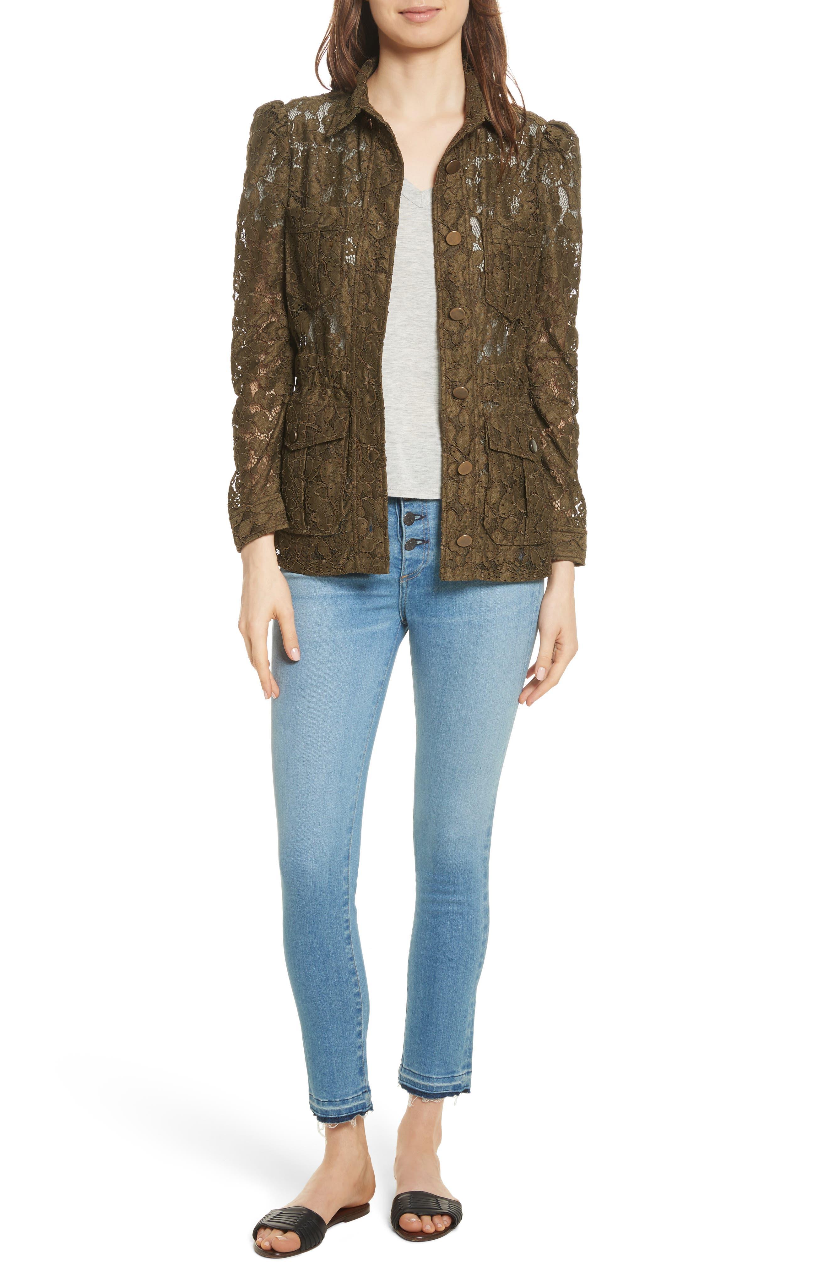 Debbie Frayed Crop Skinny Jeans,                             Alternate thumbnail 7, color,                             Ocean Blue