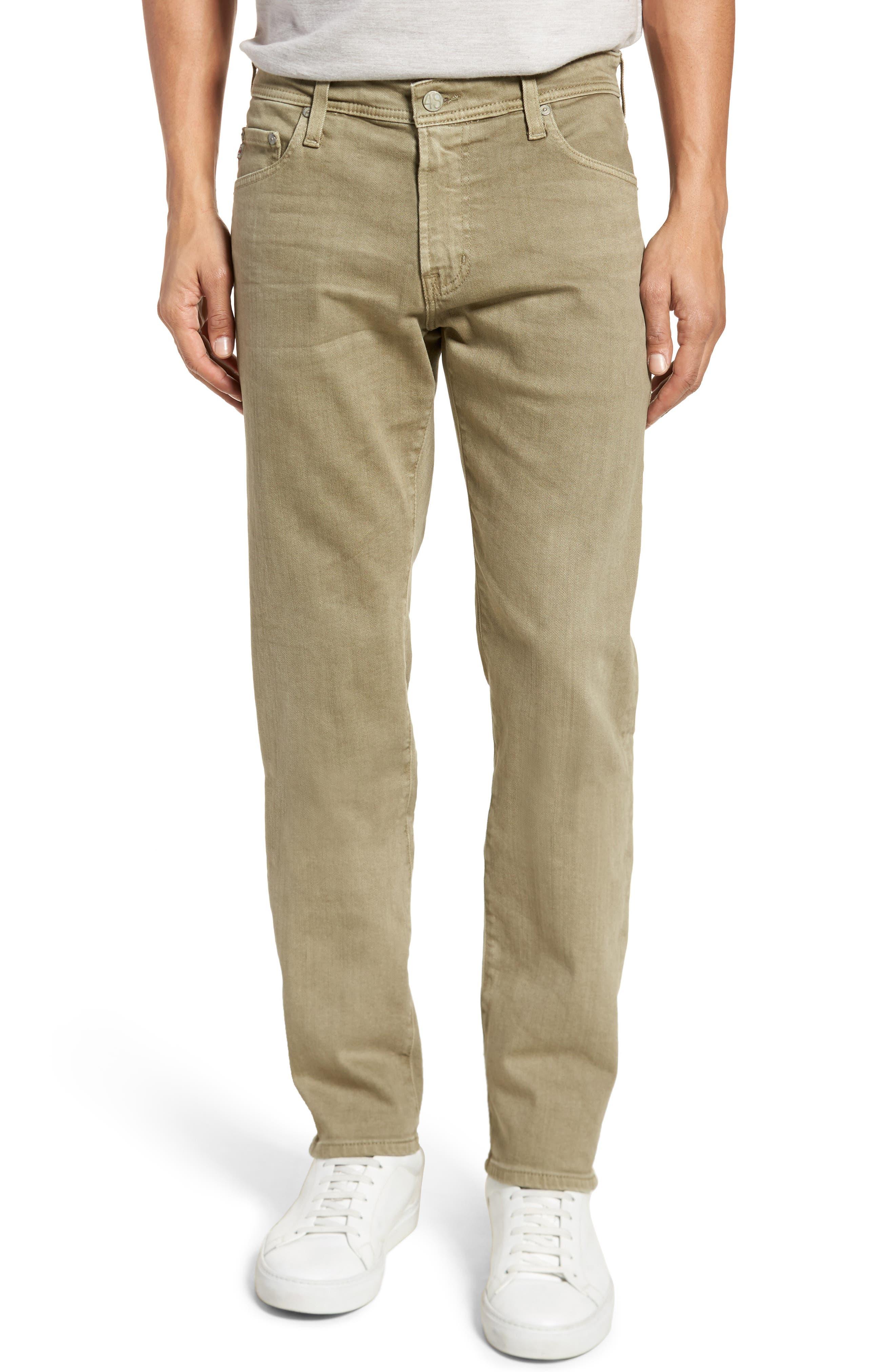 Alternate Image 1 Selected - AG Tellis Slim Fit Jeans (7 Years Dry Cypress)