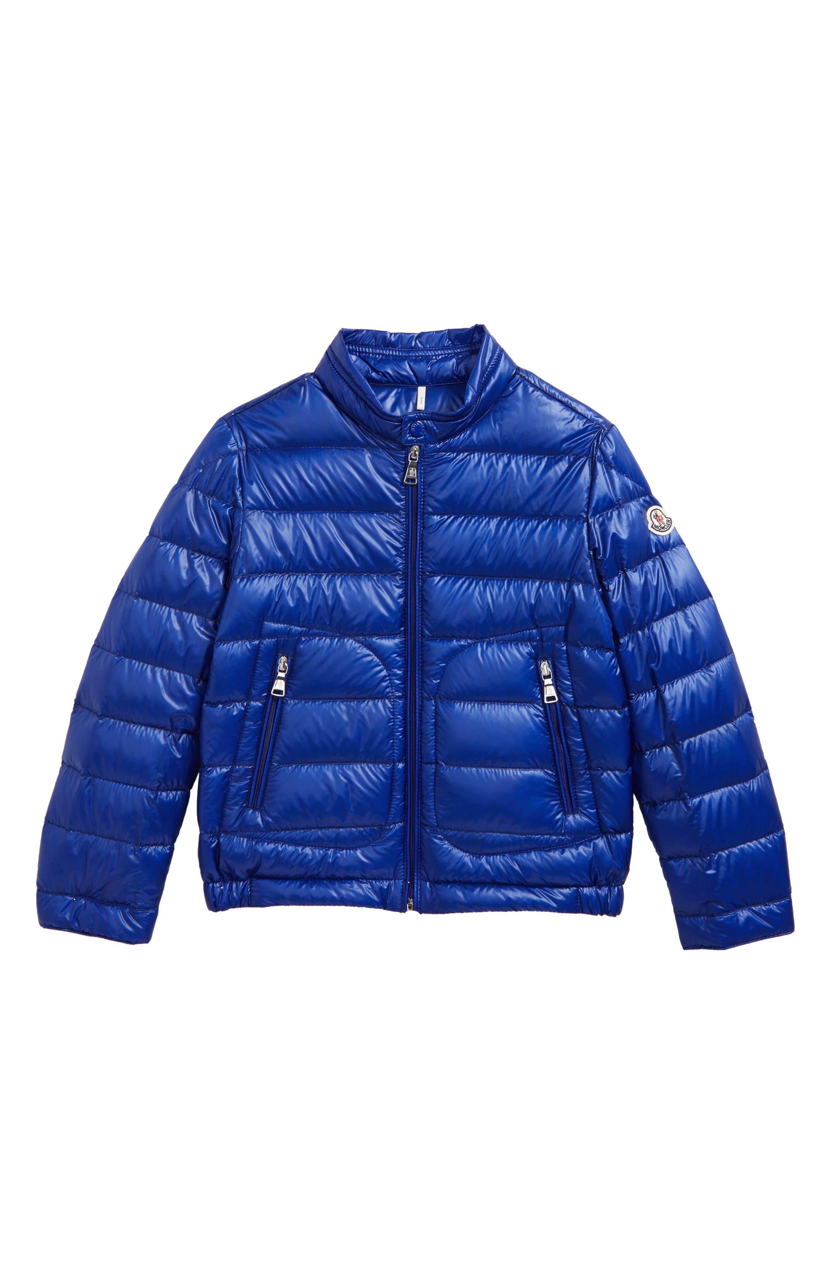 Acorus Goose Down Jacket,                             Main thumbnail 1, color,                             Bright Blue