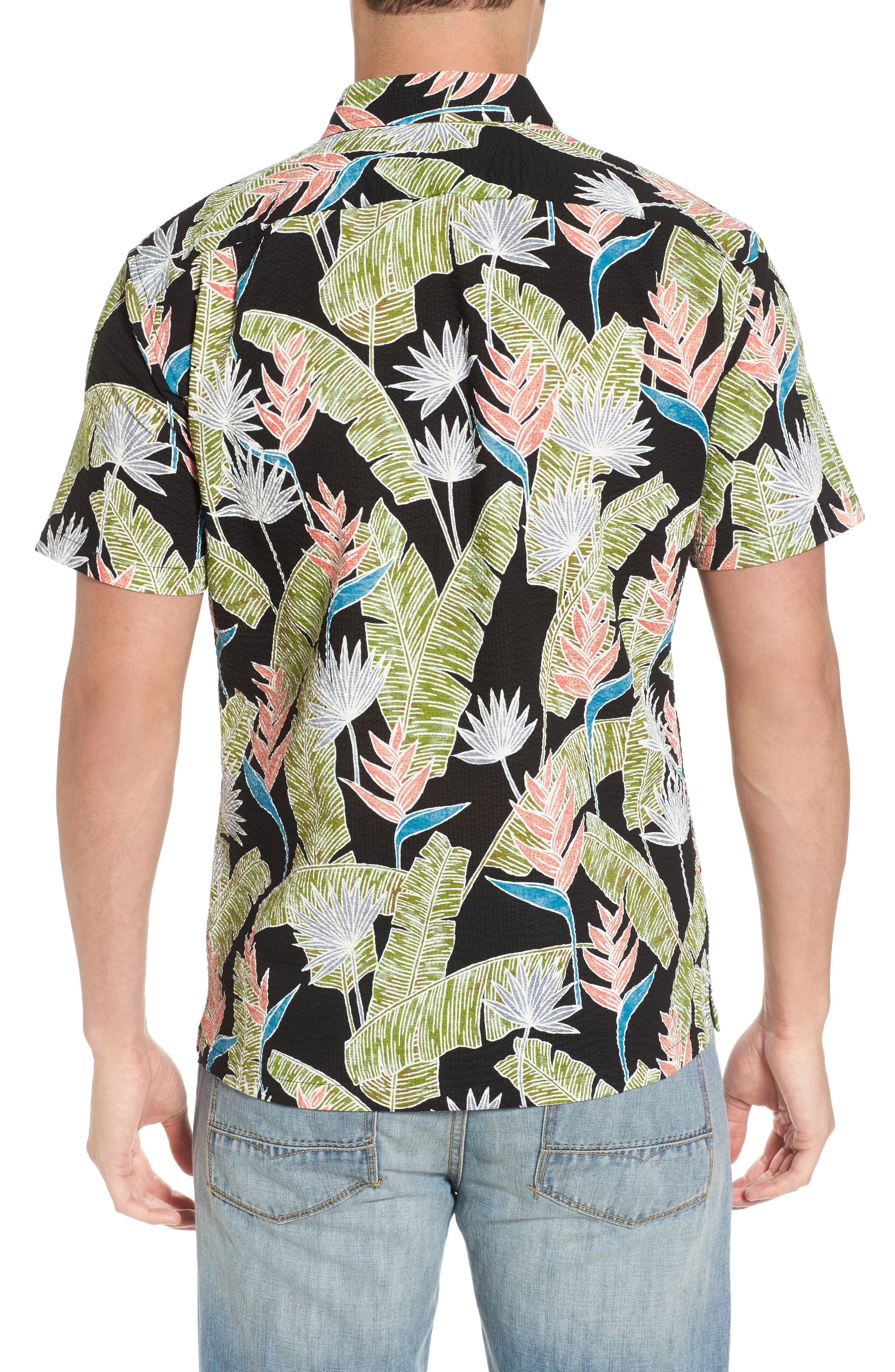 Alternate Image 2  - Tori Richard Sunbird Classic Fit Print Sport Shirt