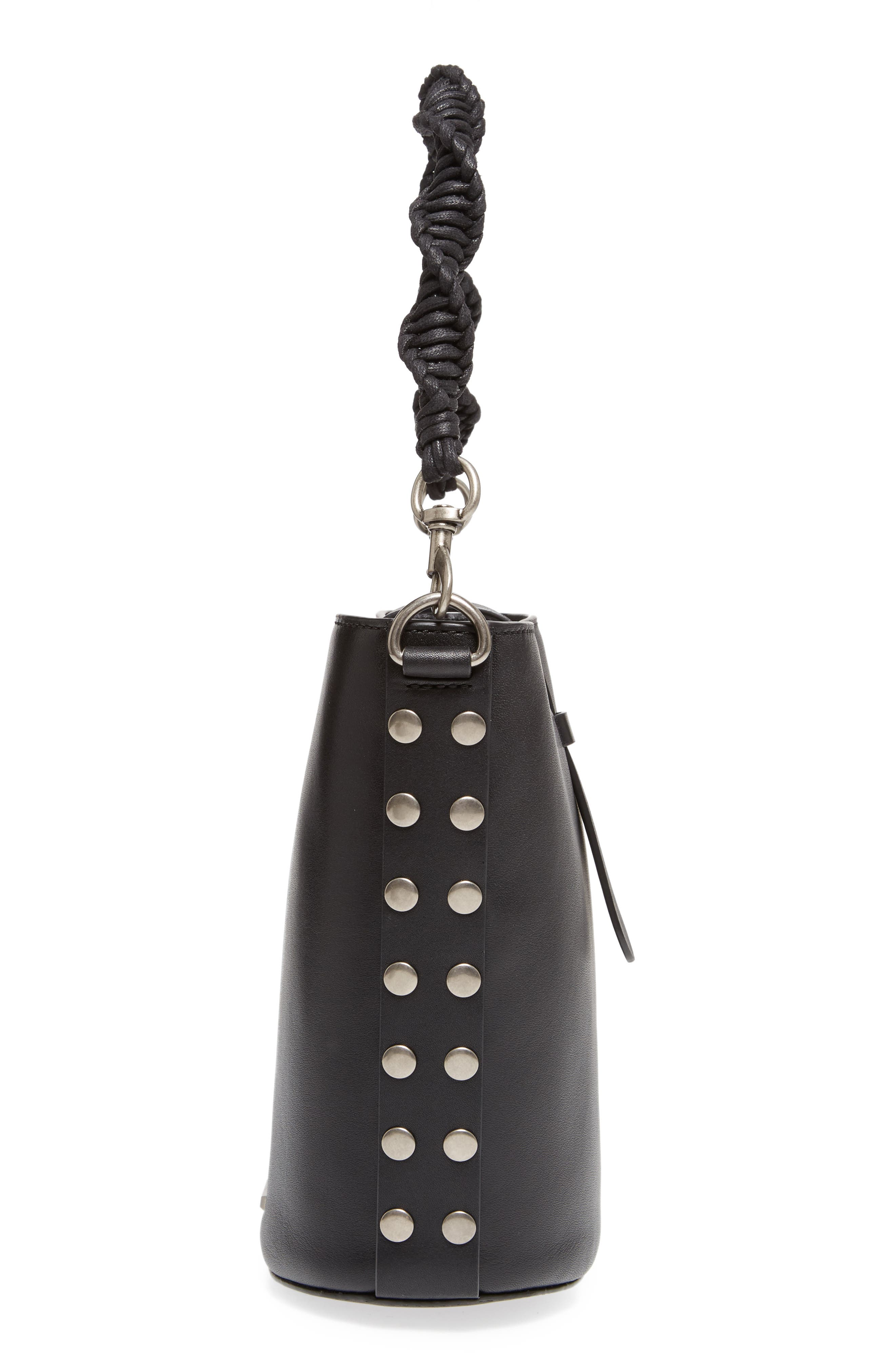 Alternate Image 5  - Rebecca Minkoff Slim Leather Bucket Bag