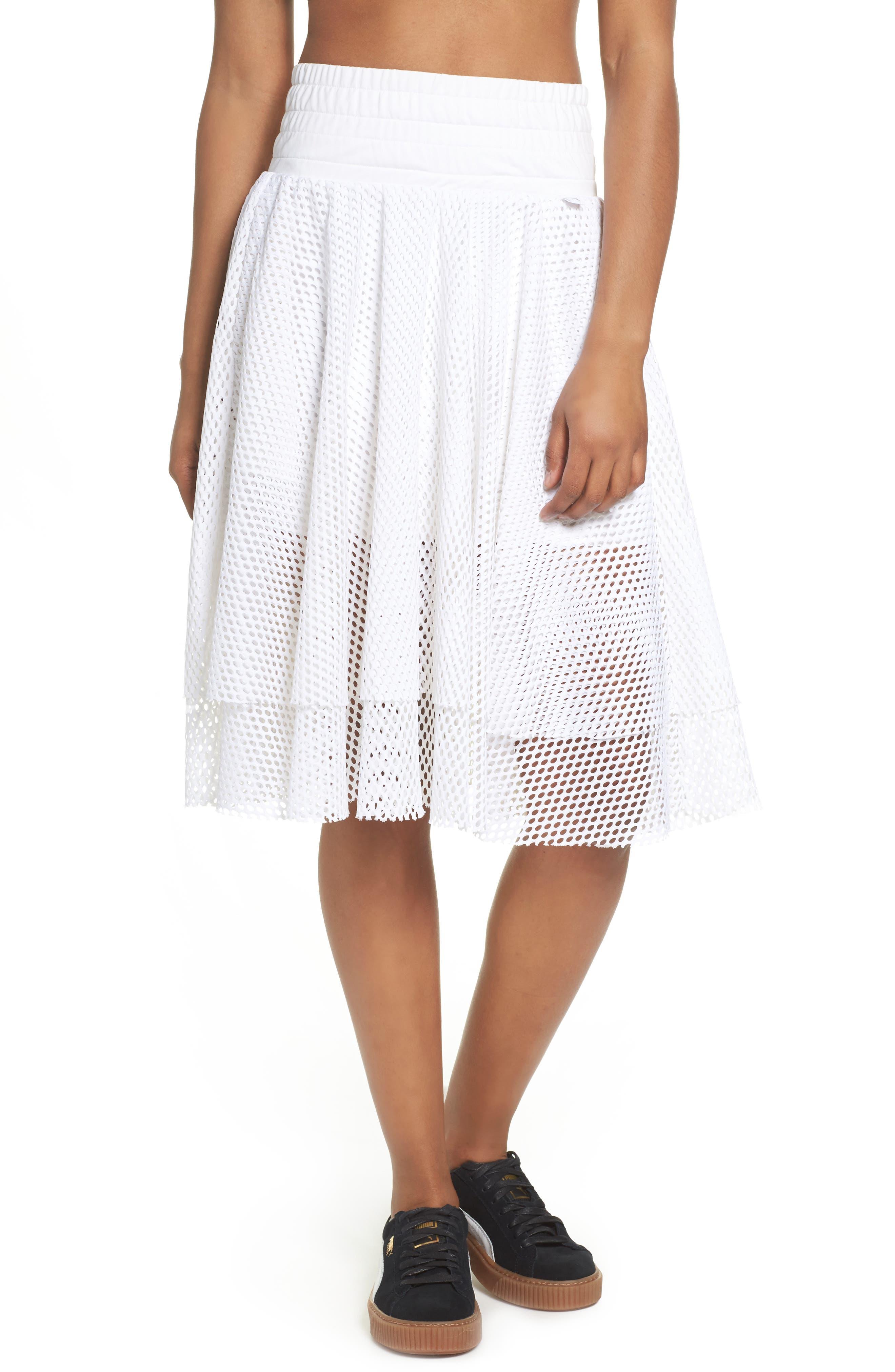 PUMA En Pointe Mesh Skirt