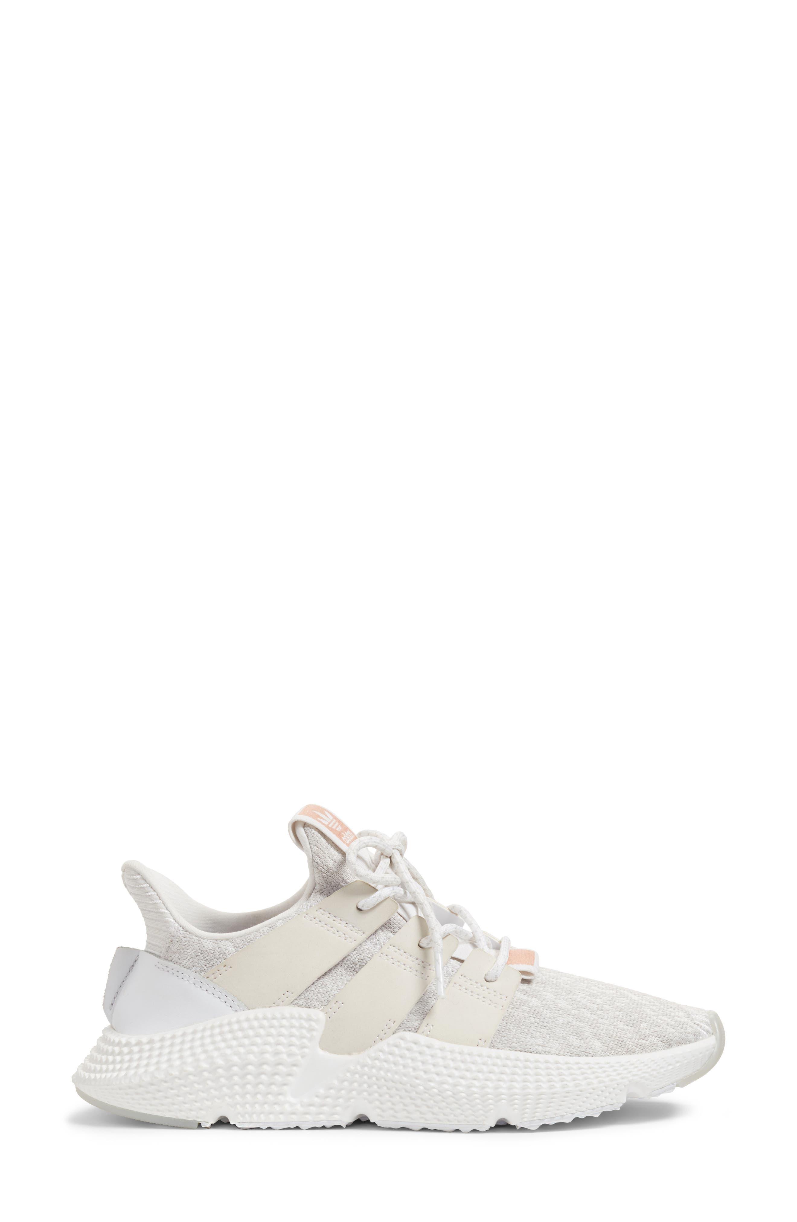 Prophere Sneaker,                             Alternate thumbnail 3, color,                             White/ White/ Supplier Colour