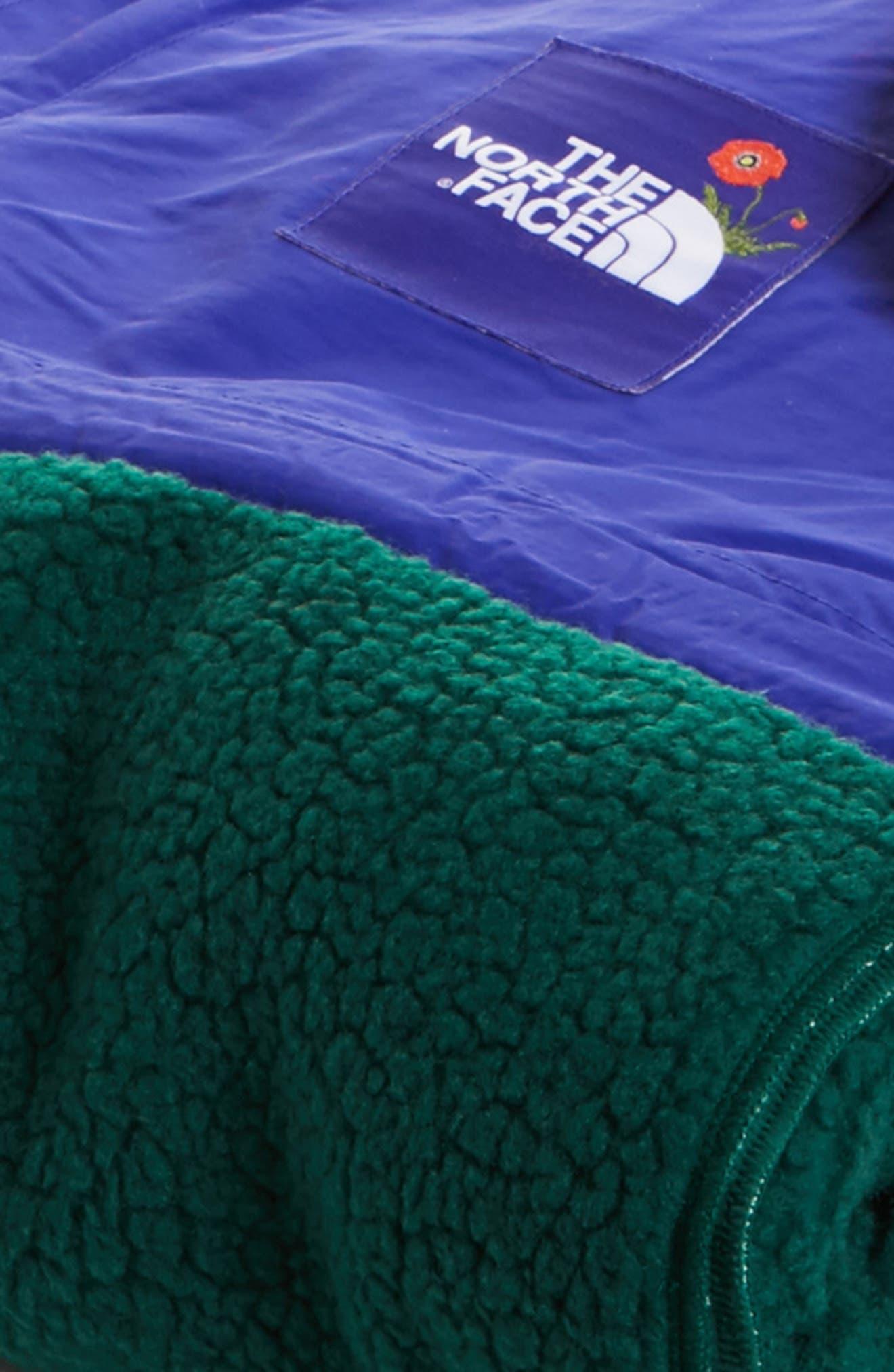 Blanket,                             Alternate thumbnail 3, color,                             Night Green
