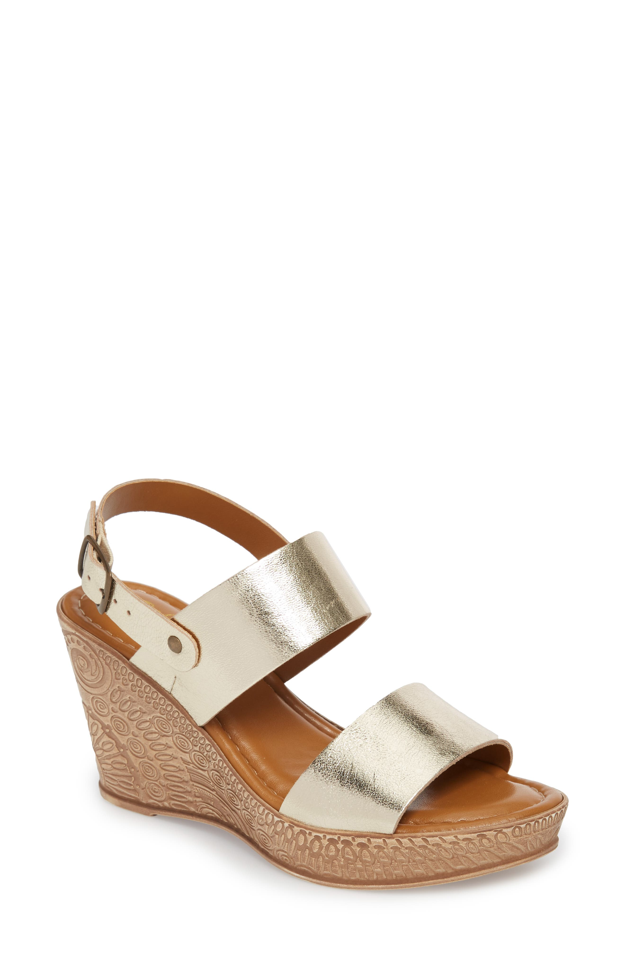 Alternate Image 1 Selected - Bella Vita Cor Wedge Sandal (Women)