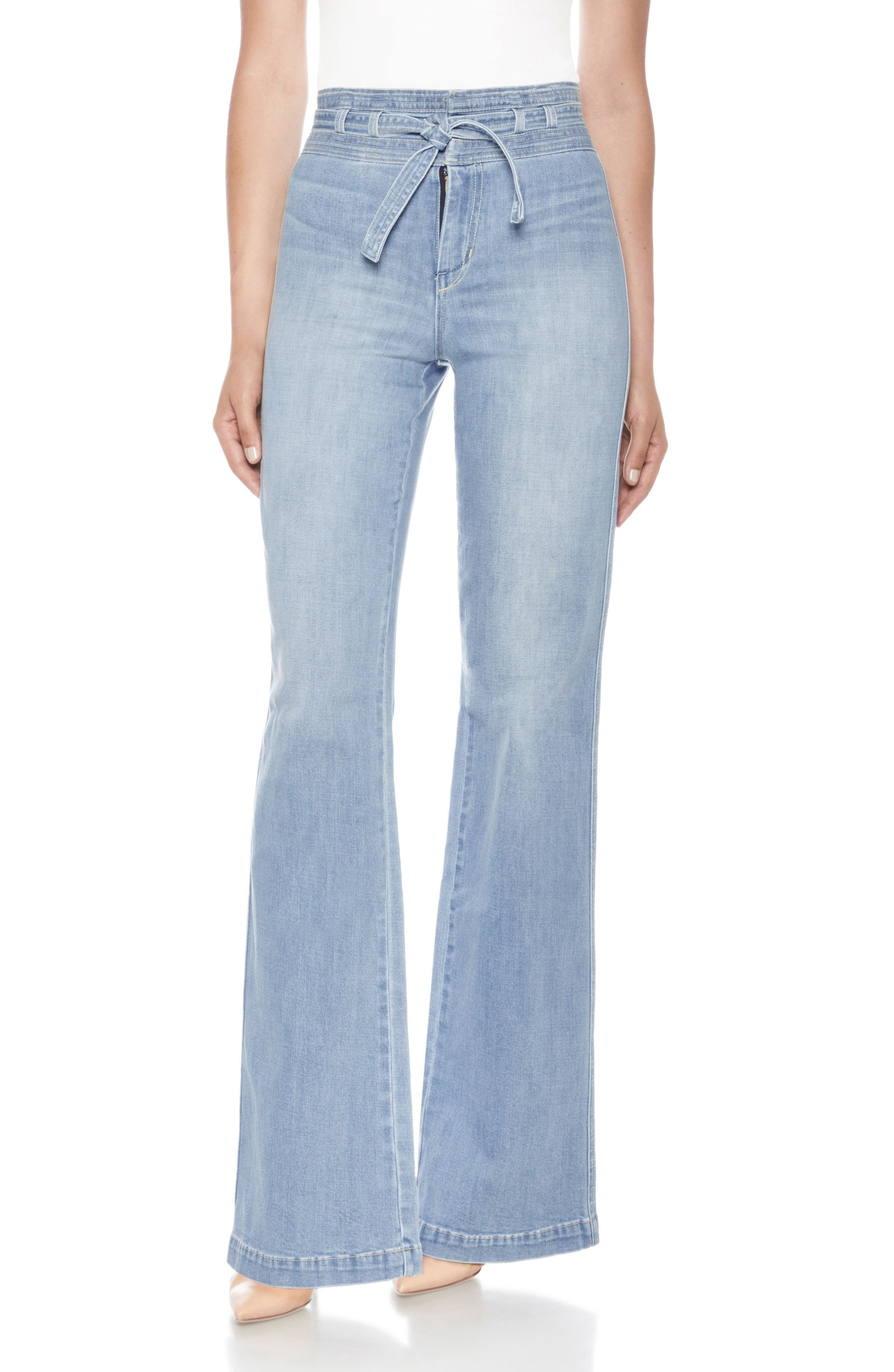 Joe's High Waist Flare Jeans (Colleen)