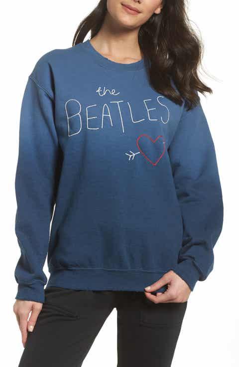 Junk Food The Beatles Ombré Sweatshirt (Nordstrom Exclusive)